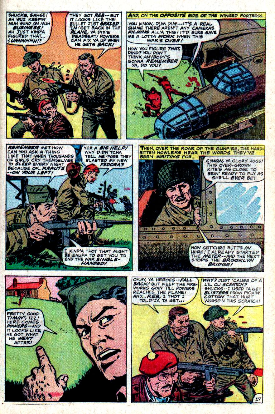 Read online Sgt. Fury comic -  Issue #46 - 25