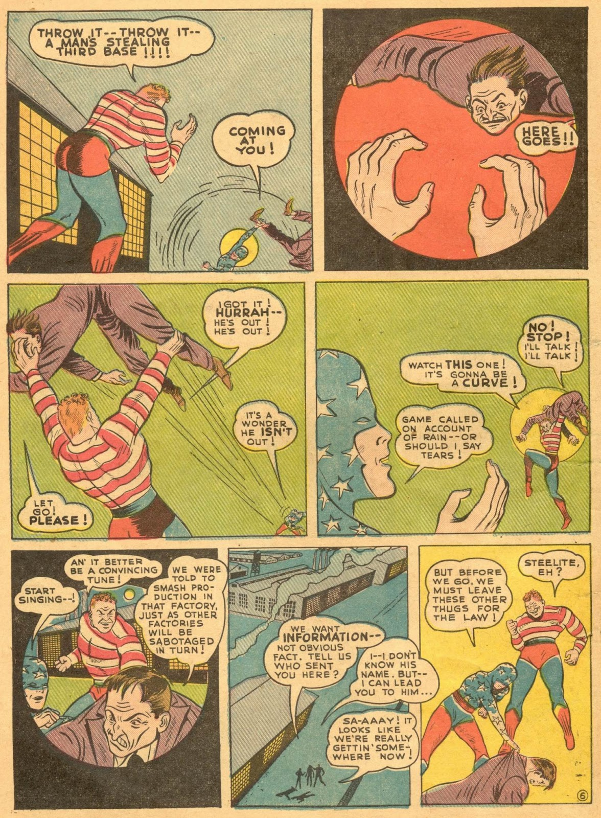Star Spangled Comics (1941) issue 1 - Page 8