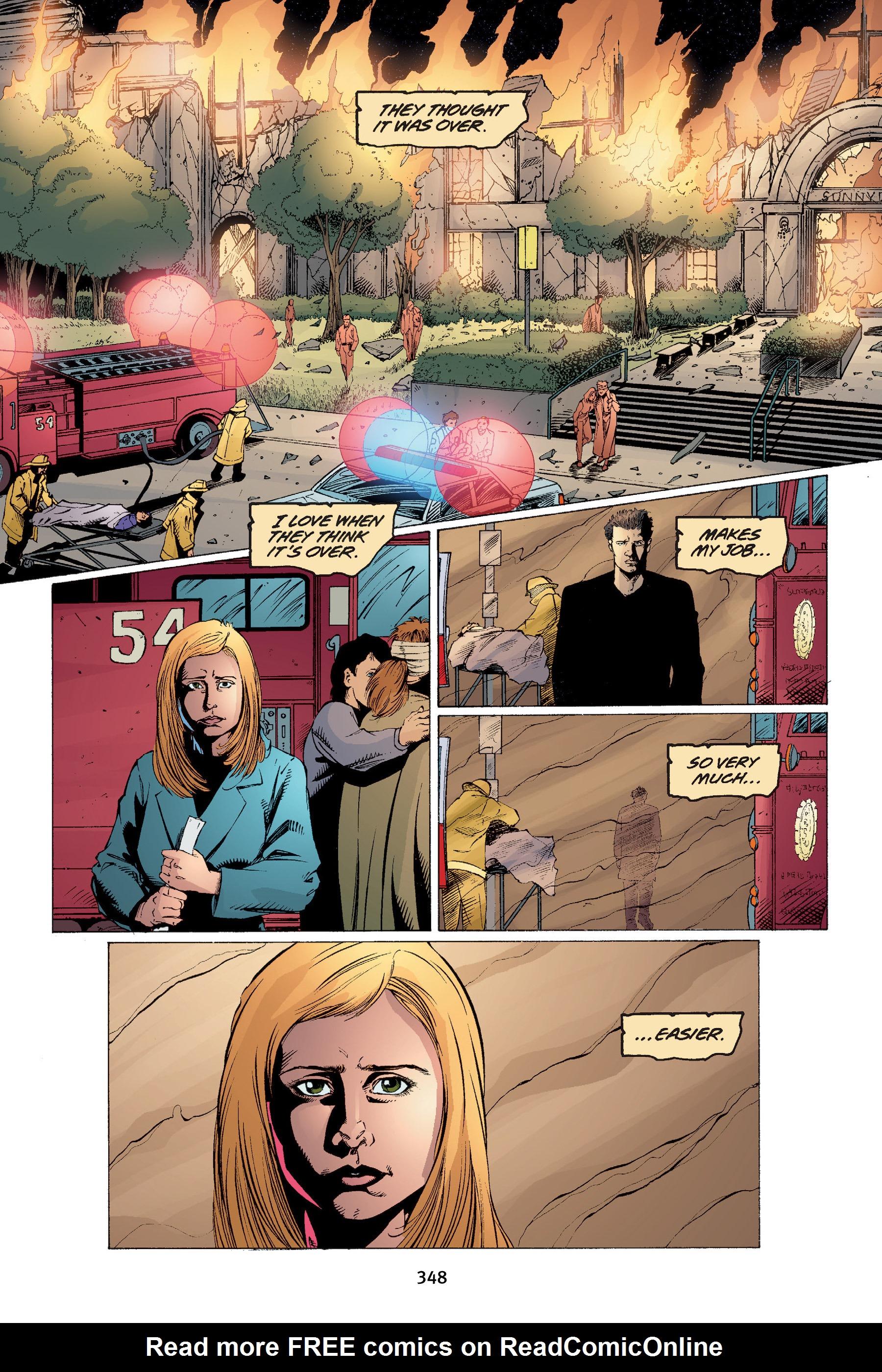 Read online Buffy the Vampire Slayer: Omnibus comic -  Issue # TPB 4 - 344