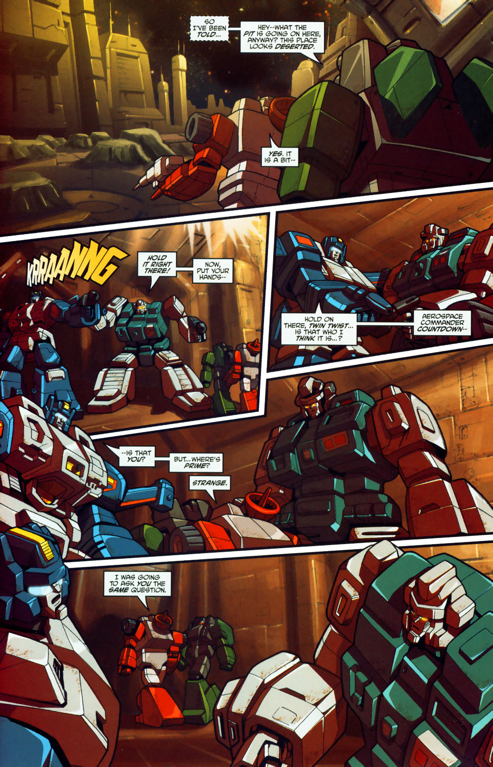 Read online Transformers: Micromasters comic -  Issue #1 - 9