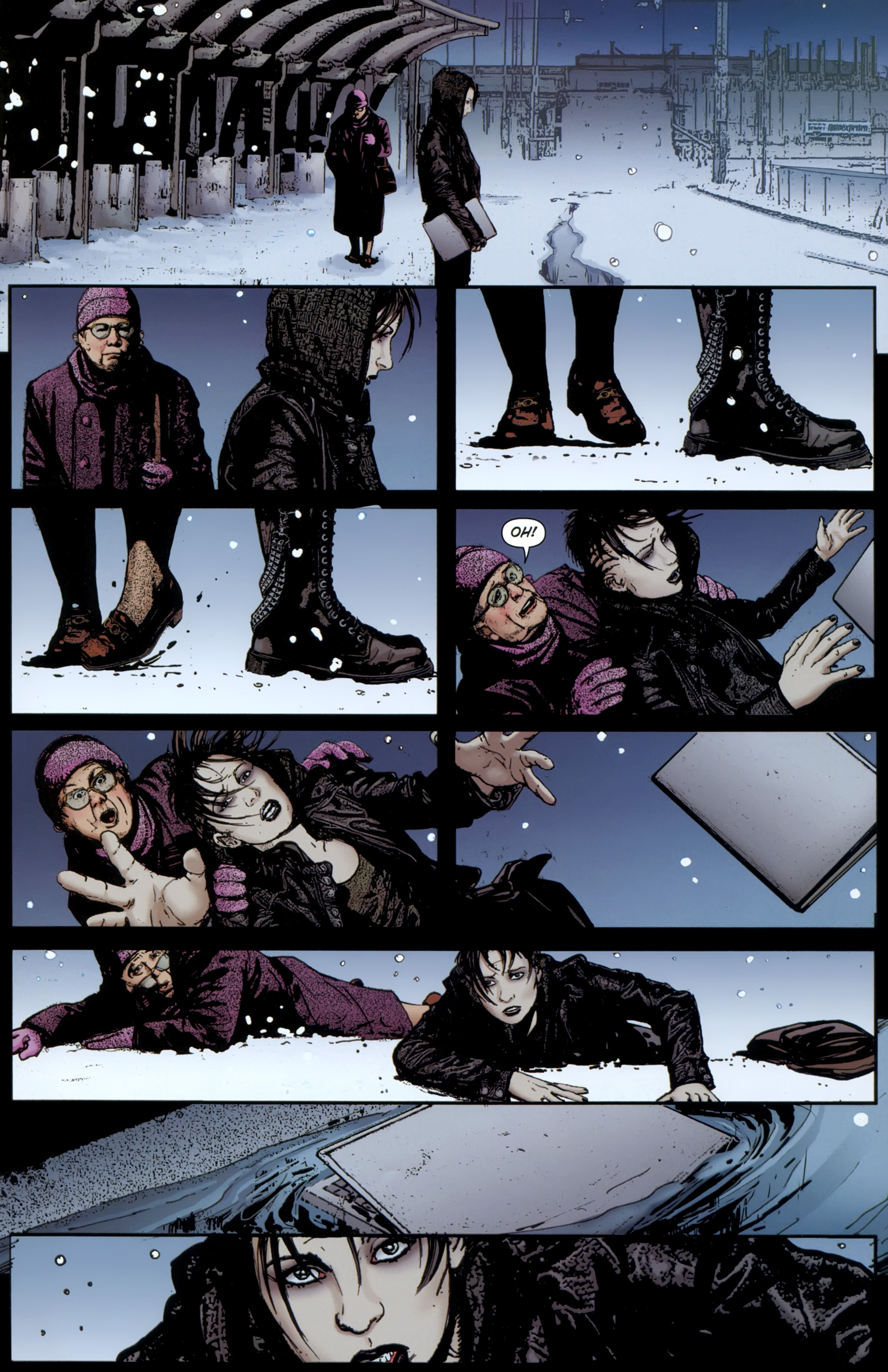 Read online The Girl With the Dragon Tattoo comic -  Issue # TPB 1 - 96