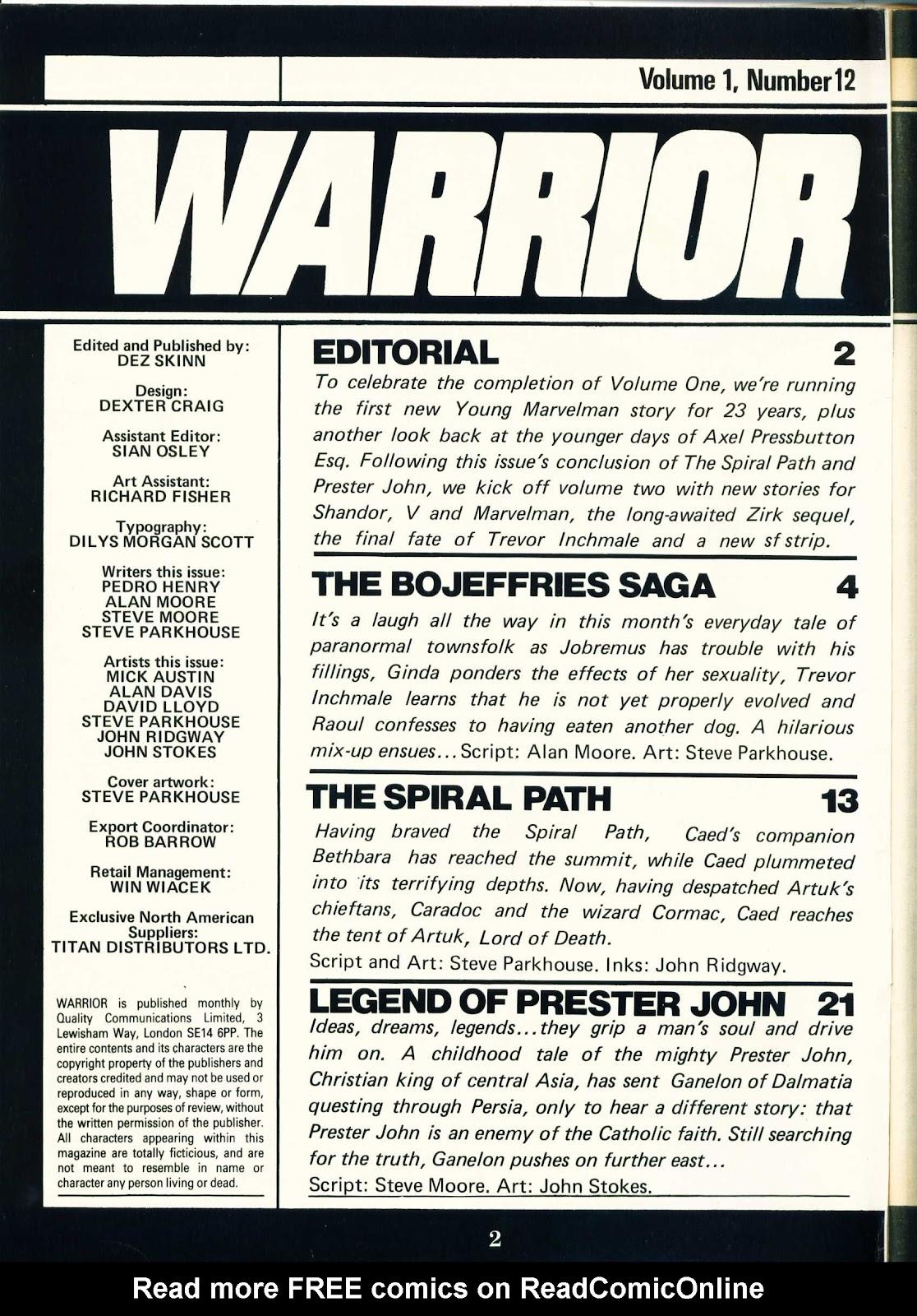 Warrior Issue #12 #13 - English 2