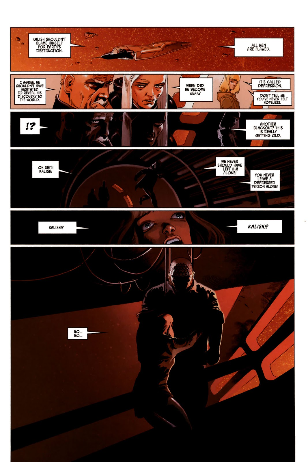 Read online Universal War One: Revelations comic -  Issue #2 - 49