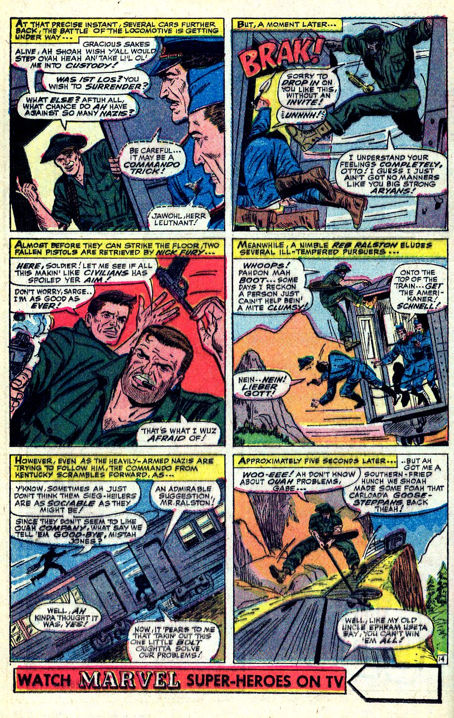 Read online Sgt. Fury comic -  Issue #36 - 19