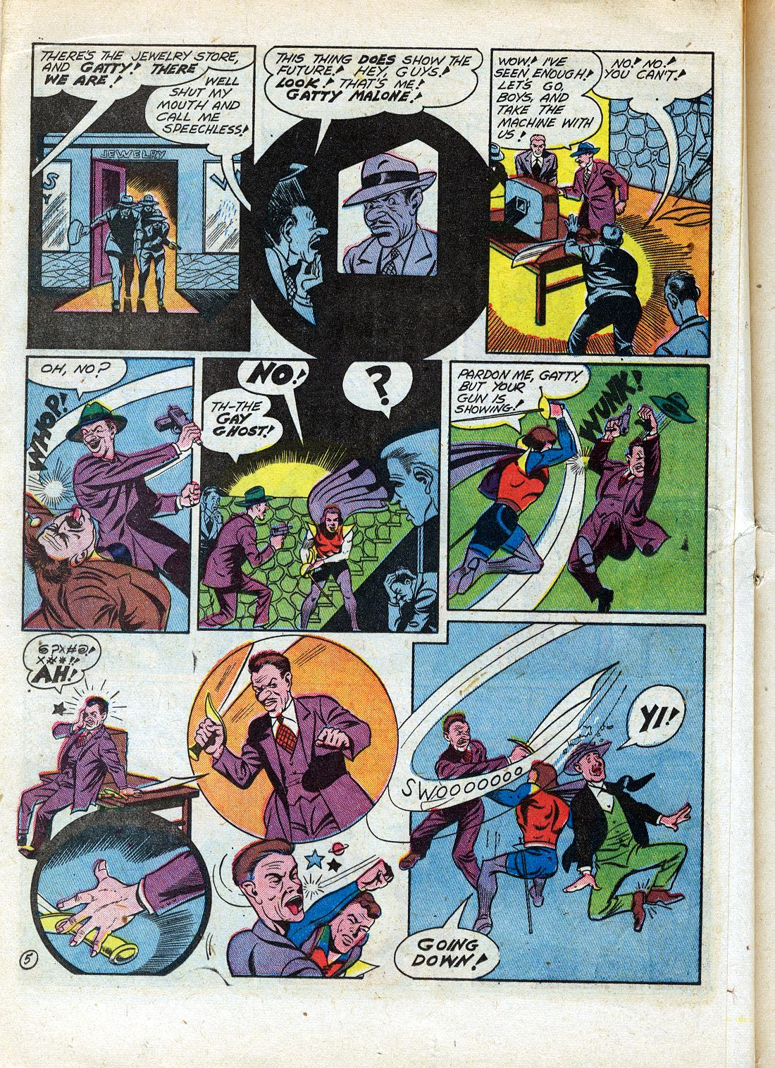 Read online Sensation (Mystery) Comics comic -  Issue #26 - 36