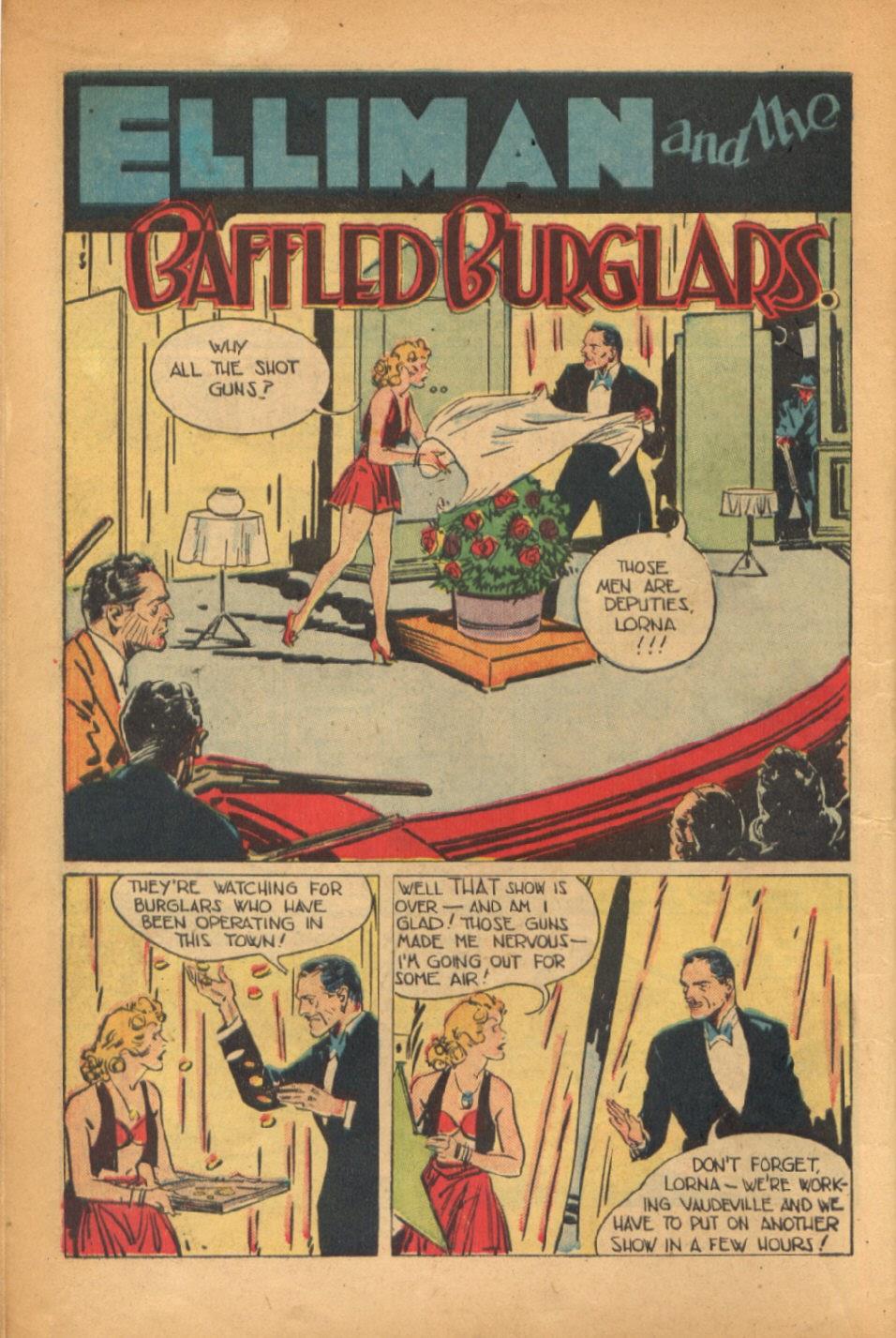 Read online Super-Magician Comics comic -  Issue #54 - 11