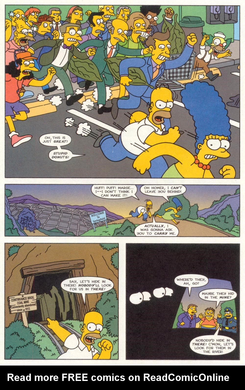 Read online Treehouse of Horror comic -  Issue #3 - 19