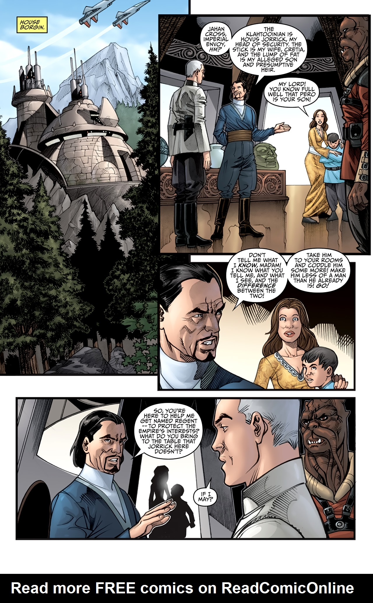 Read online Star Wars: Agent Of The Empire - Hard Targets comic -  Issue #2 - 7
