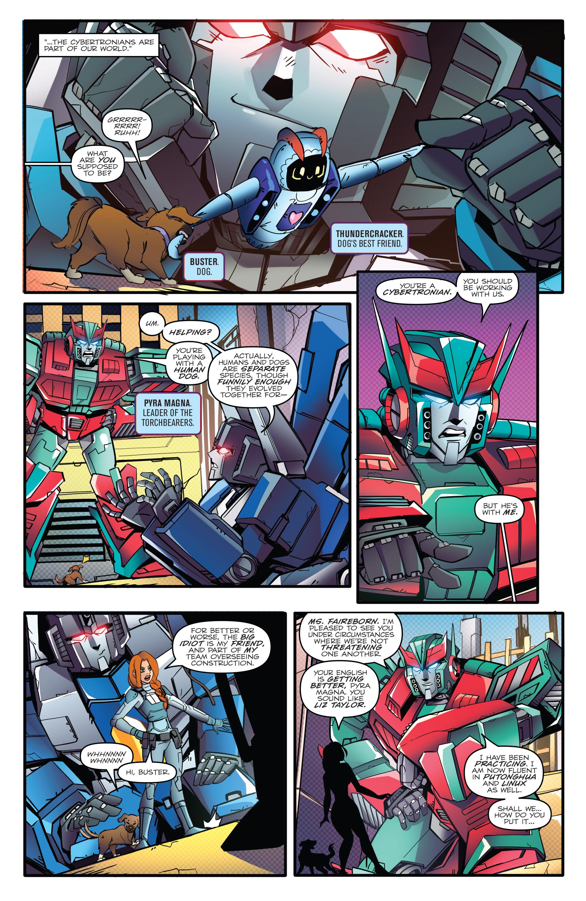 Read online Optimus Prime comic -  Issue #7 - 16
