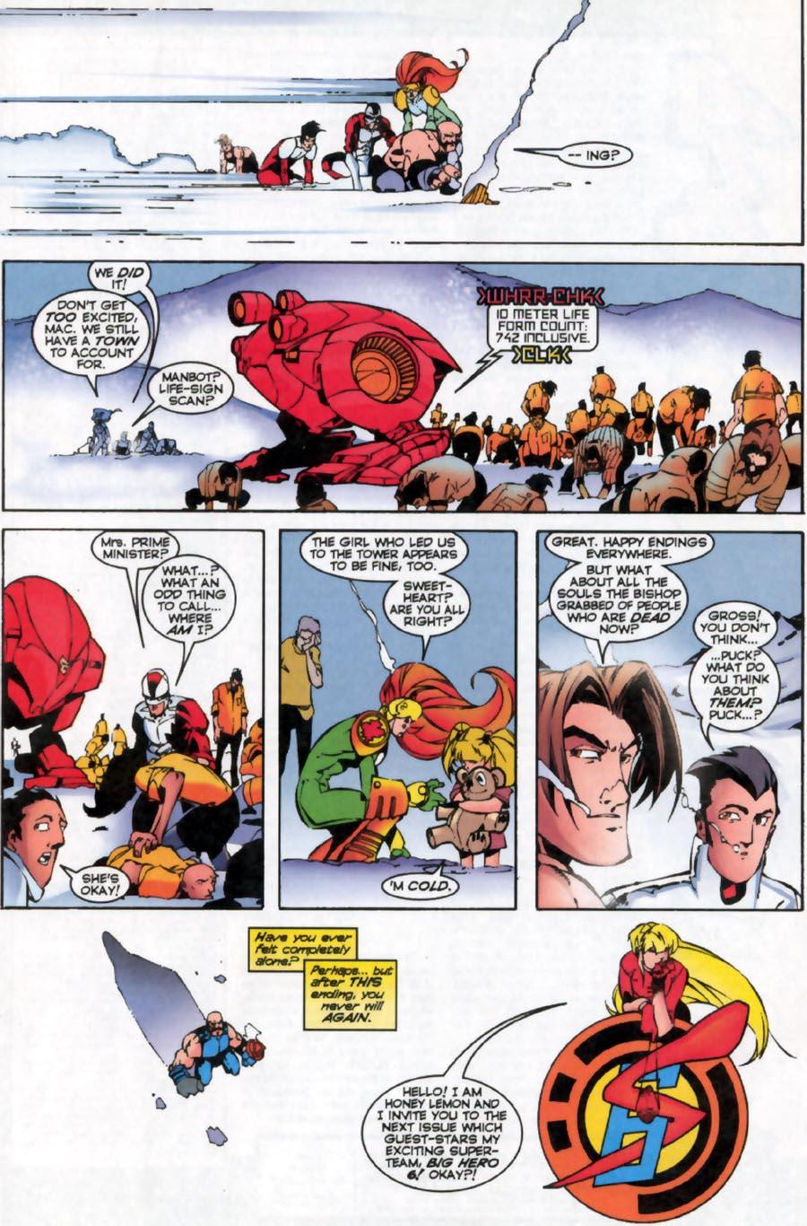 Read online Alpha Flight (1997) comic -  Issue #16 - 23