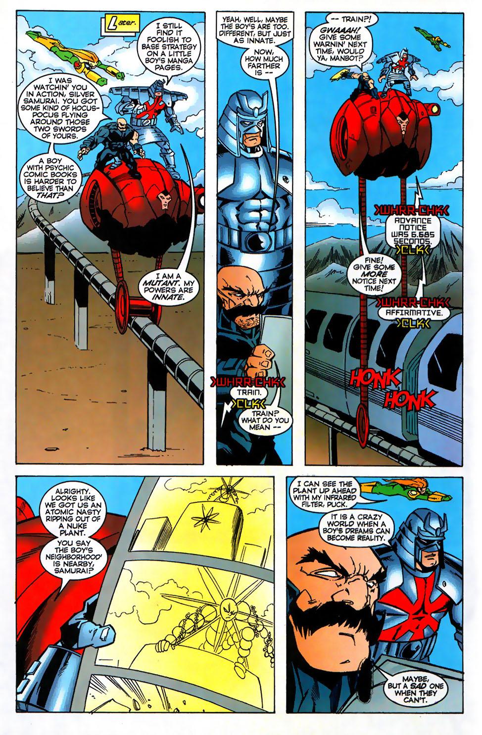 Read online Alpha Flight (1997) comic -  Issue #17 - 16