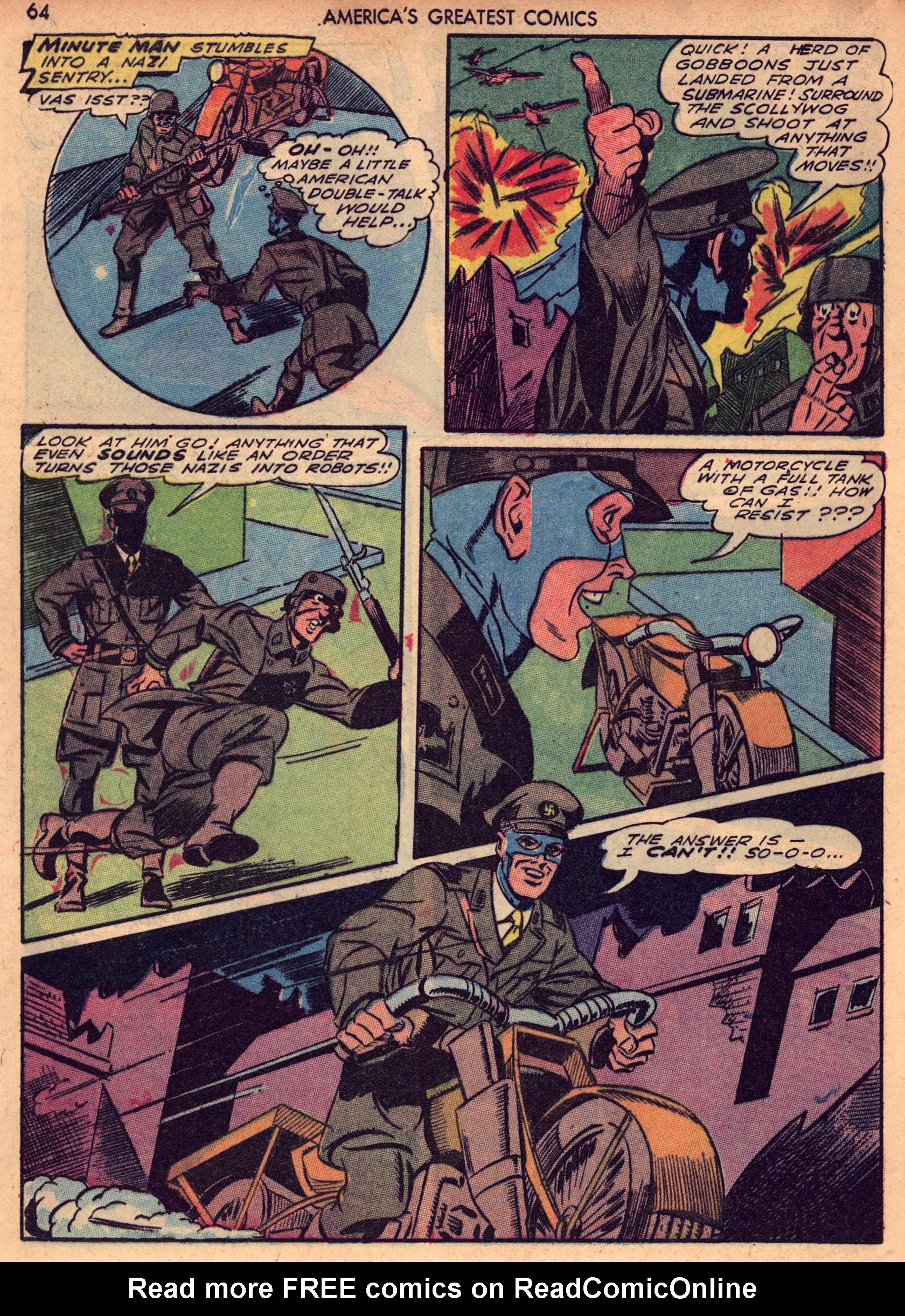 Read online America's Greatest Comics comic -  Issue #7 - 63