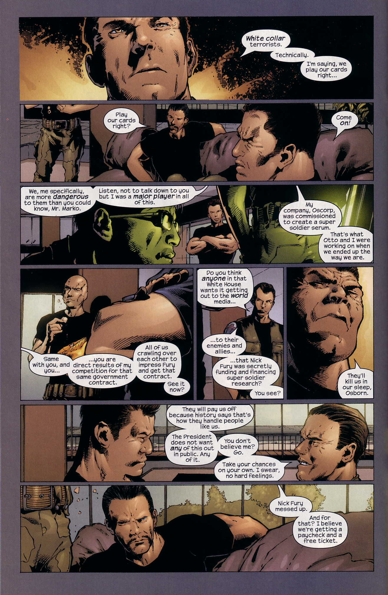 Read online Ultimate Six comic -  Issue #4 - 10