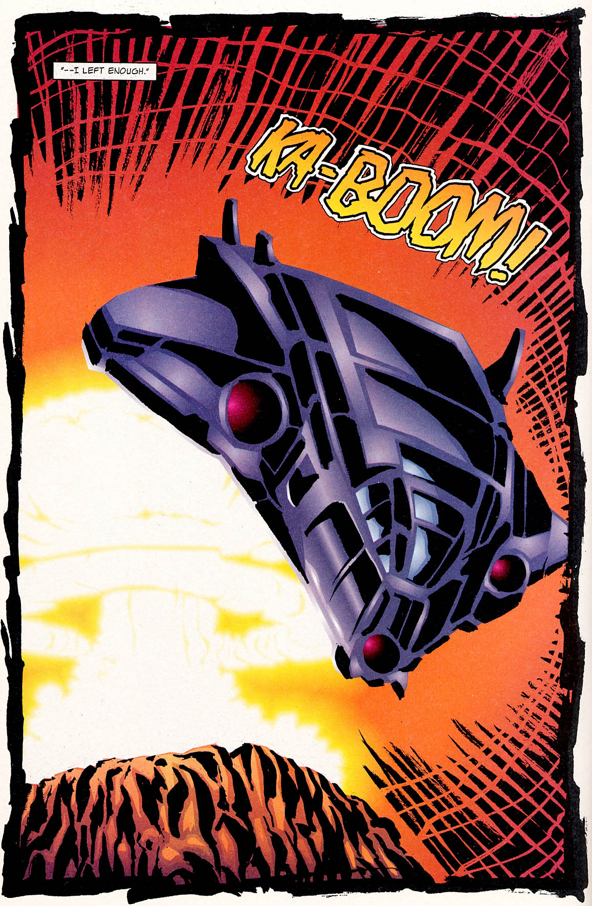 Read online ShadowHawk comic -  Issue #0 - 18