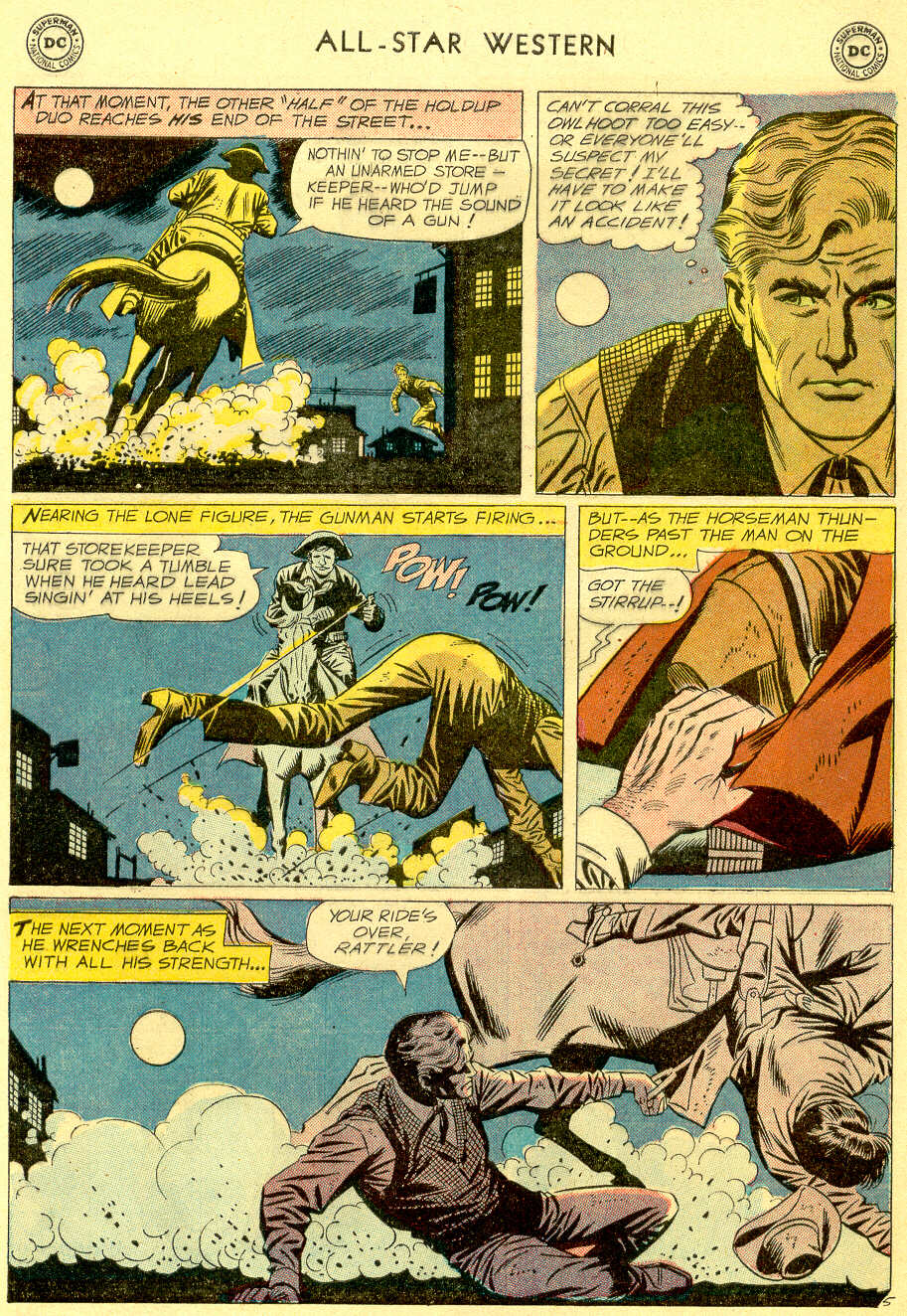 Read online All-Star Western (1951) comic -  Issue #103 - 7
