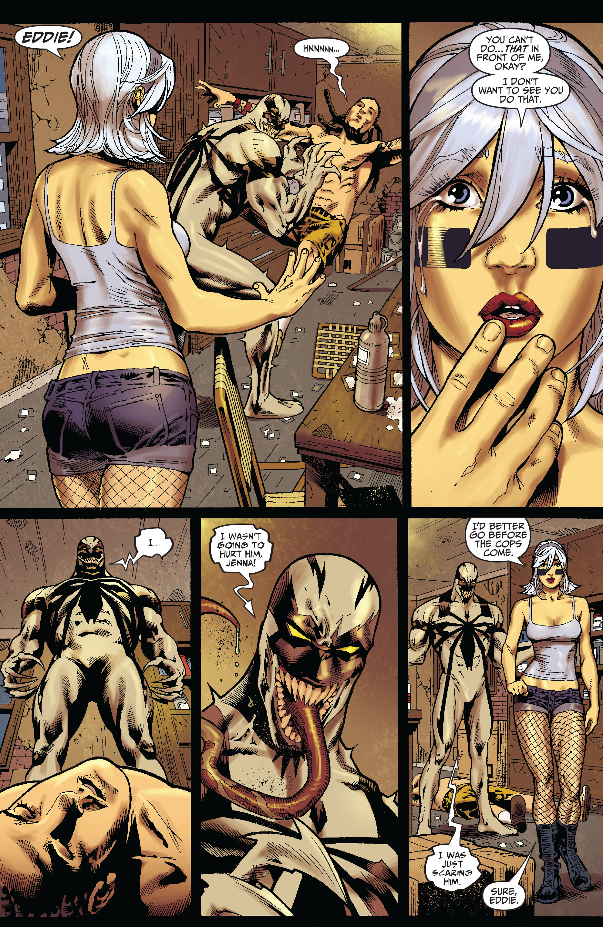 Read online Amazing Spider-Man Presents: Anti-Venom - New Ways To Live comic -  Issue #1 - 12