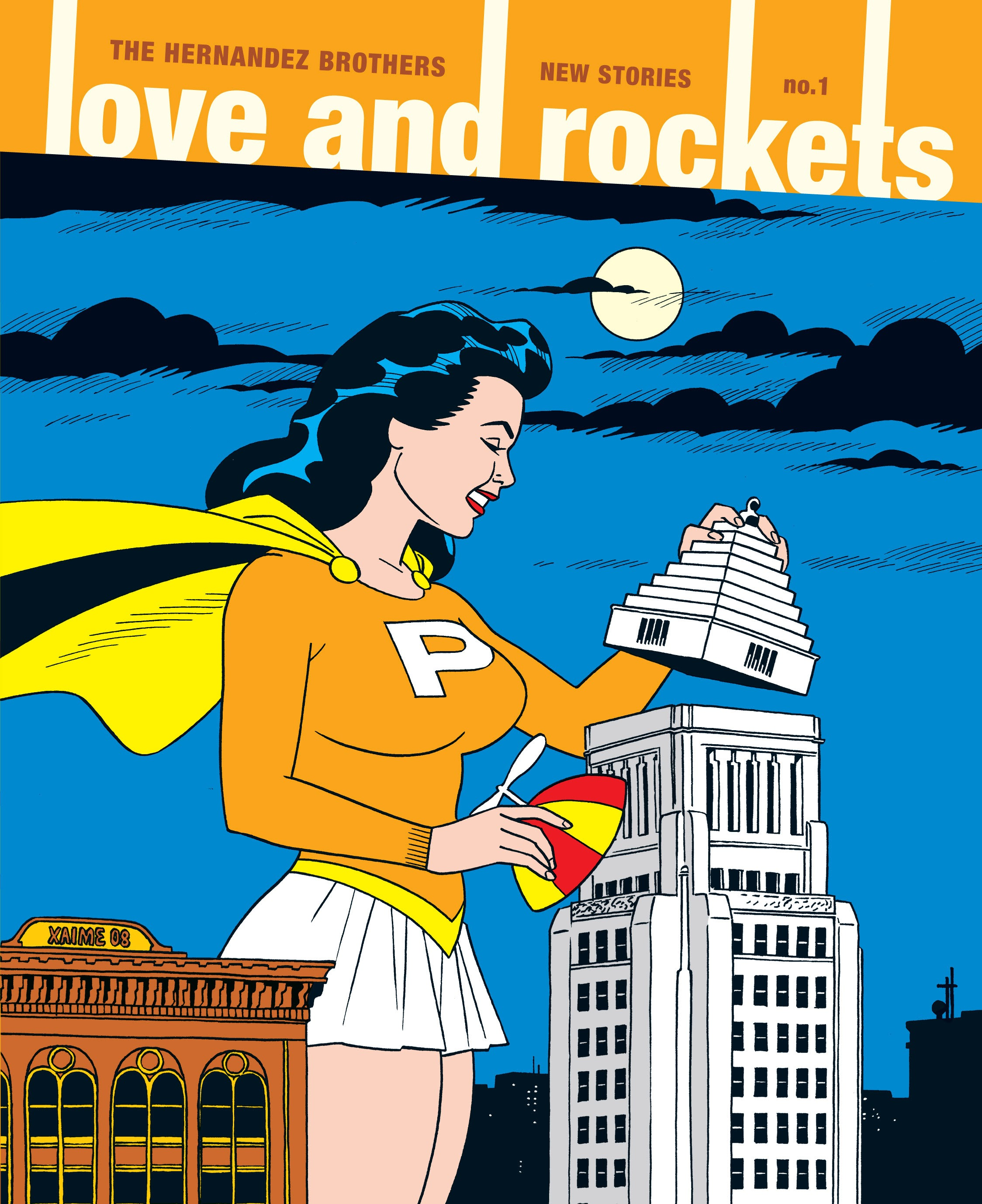 Love and Rockets: New Stories 1 Page 1