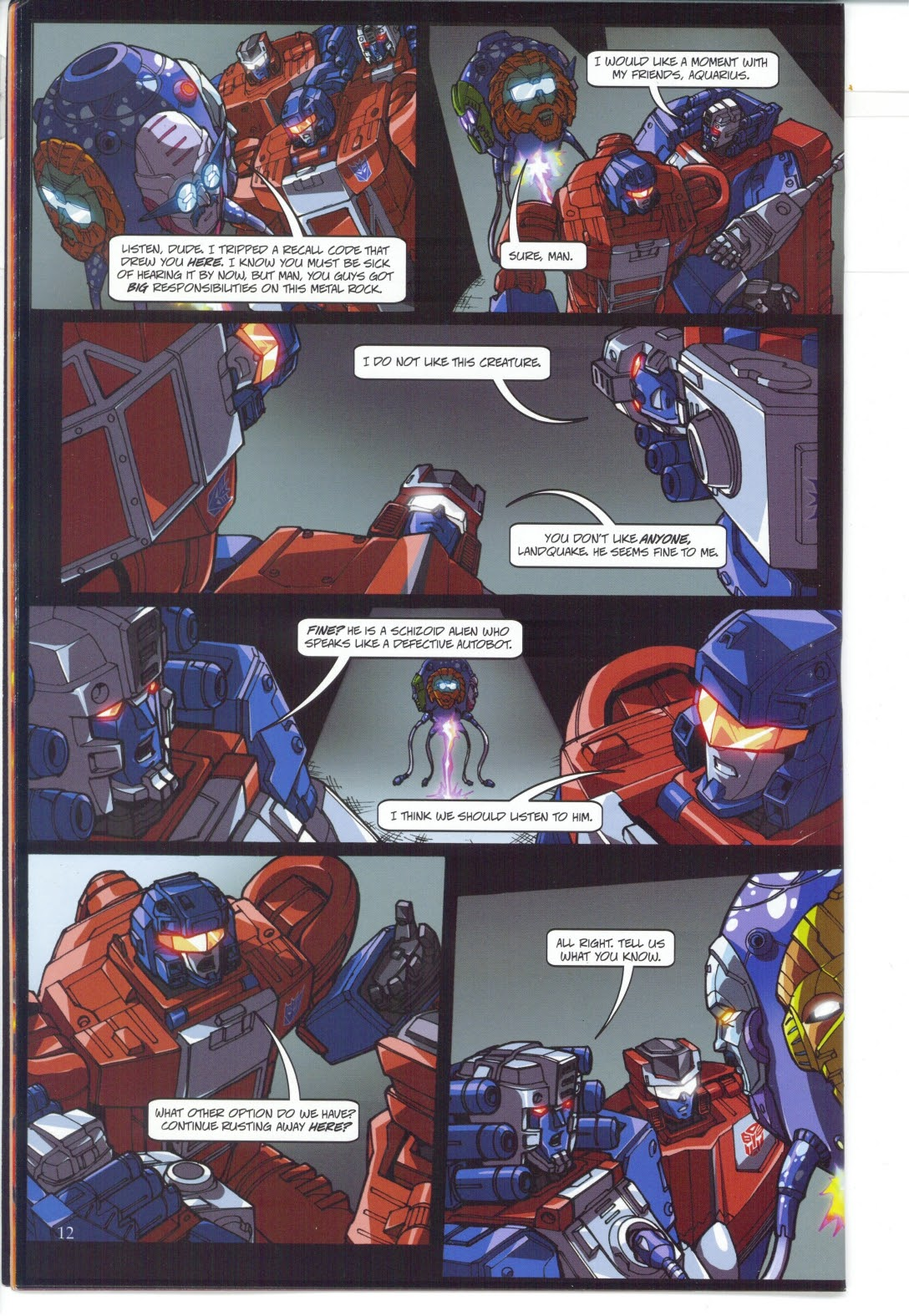 Read online Transformers: Collectors' Club comic -  Issue #27 - 12