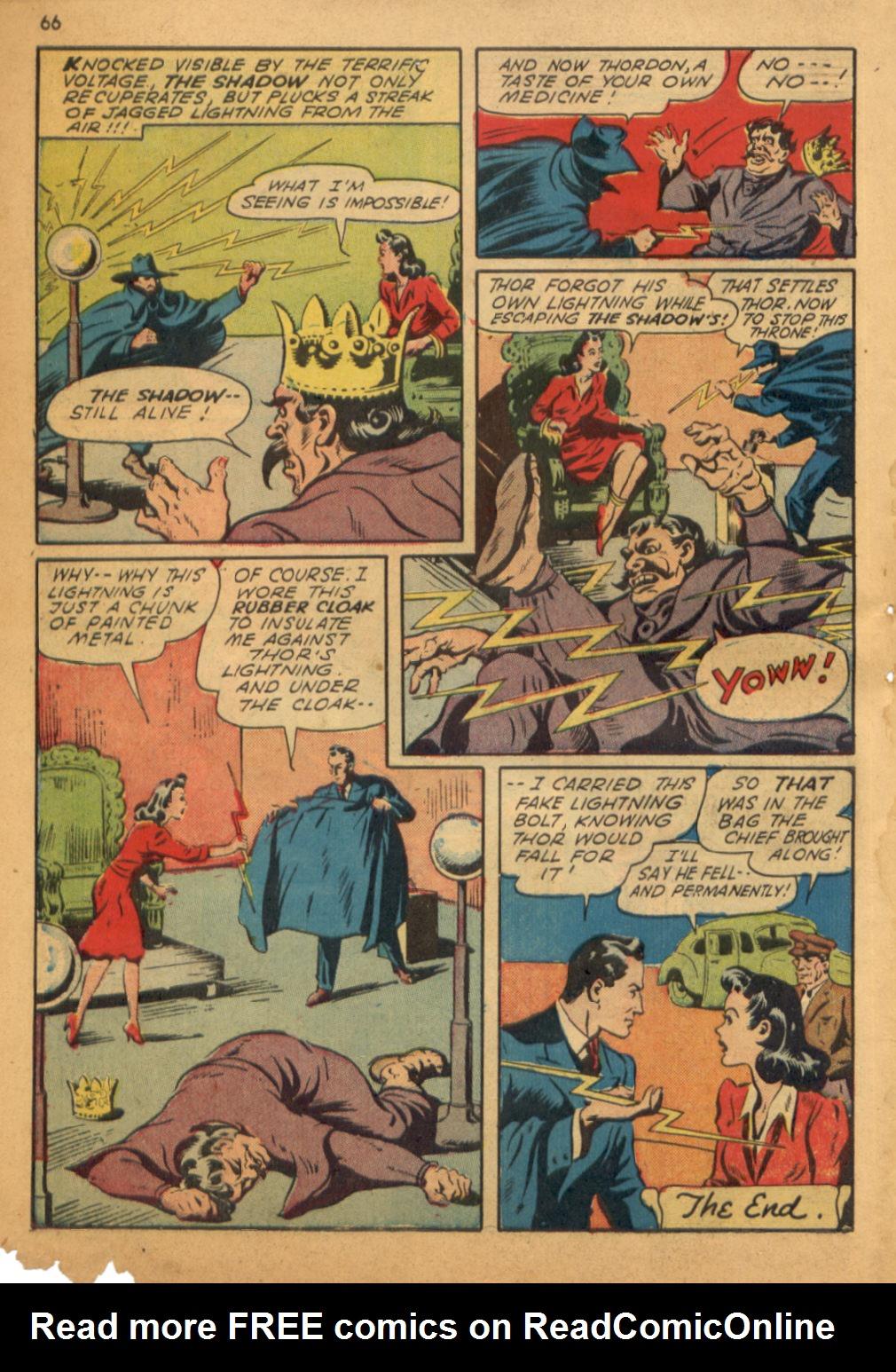 Read online Shadow Comics comic -  Issue #32 - 67