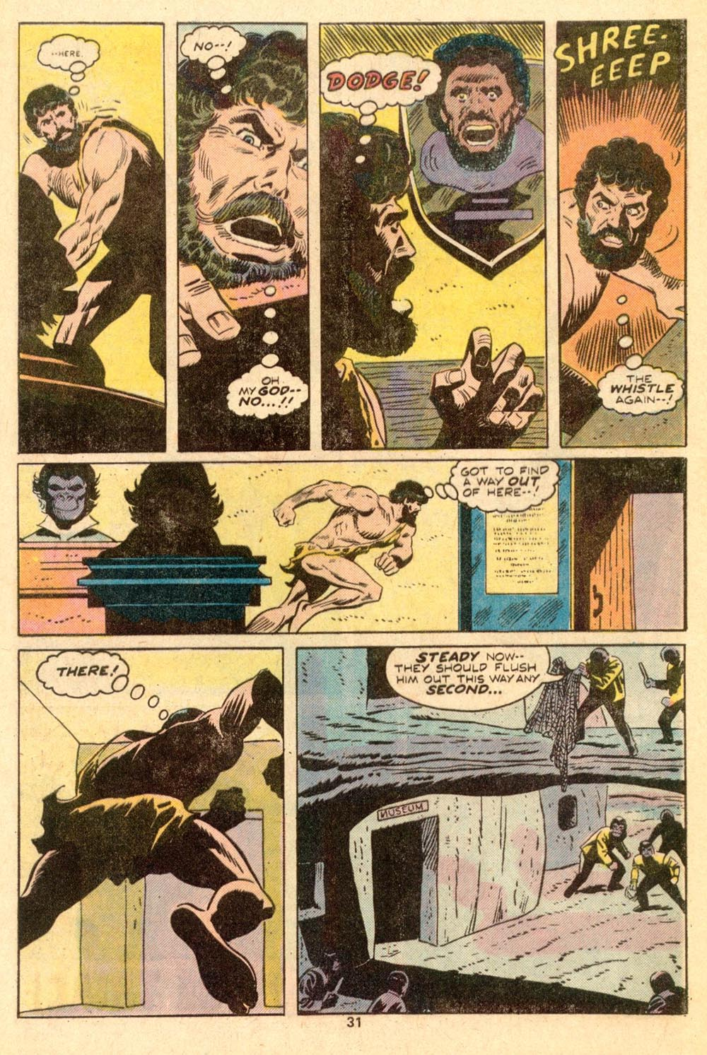Read online Adventures on the Planet of the Apes comic -  Issue #3 - 21