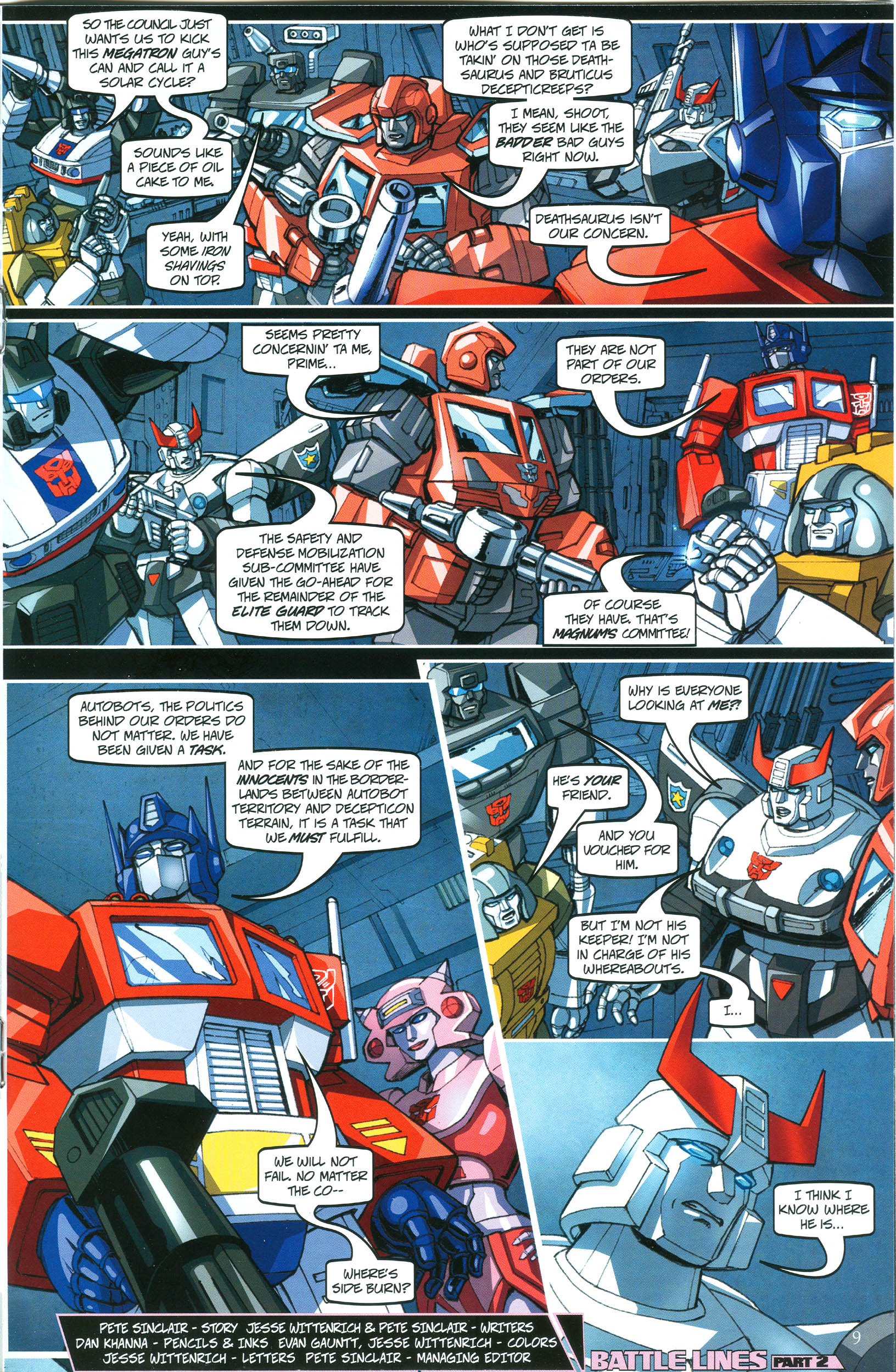 Read online Transformers: Collectors' Club comic -  Issue #38 - 9