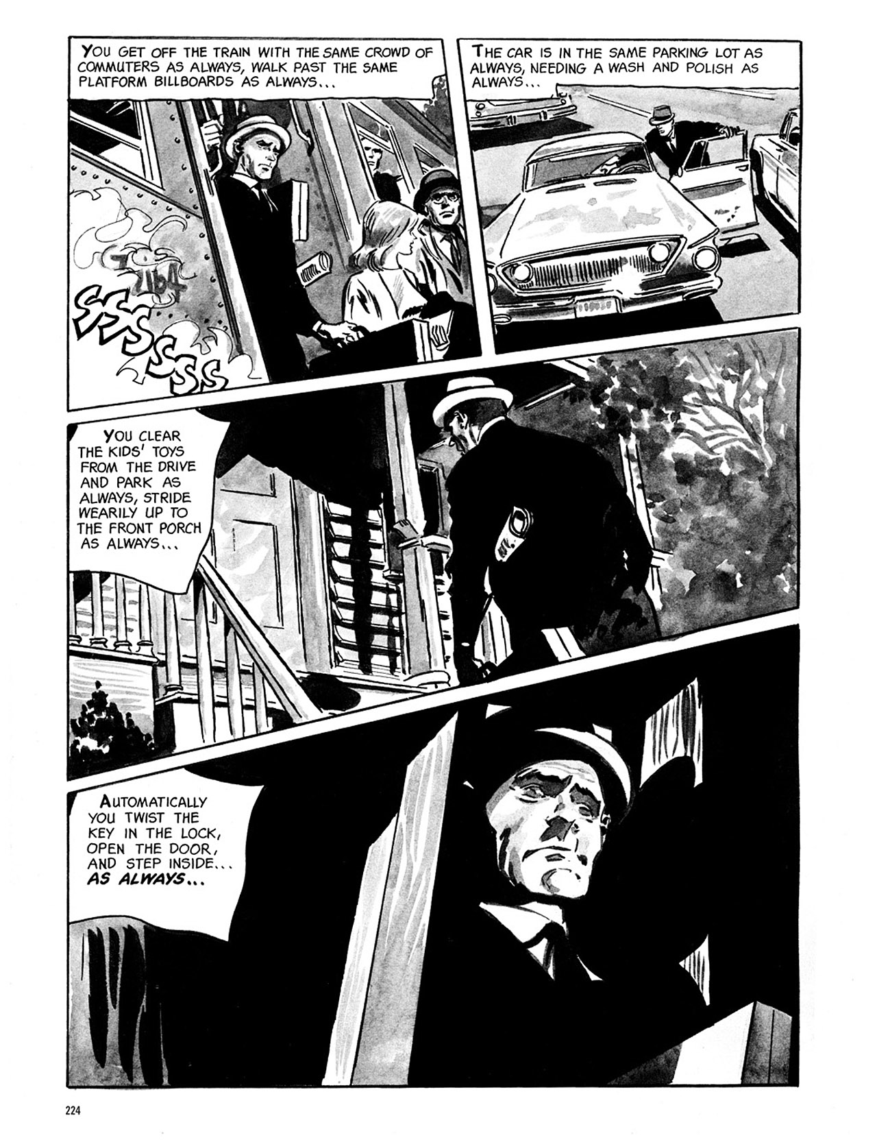 Read online Eerie Archives comic -  Issue # TPB 1 - 225