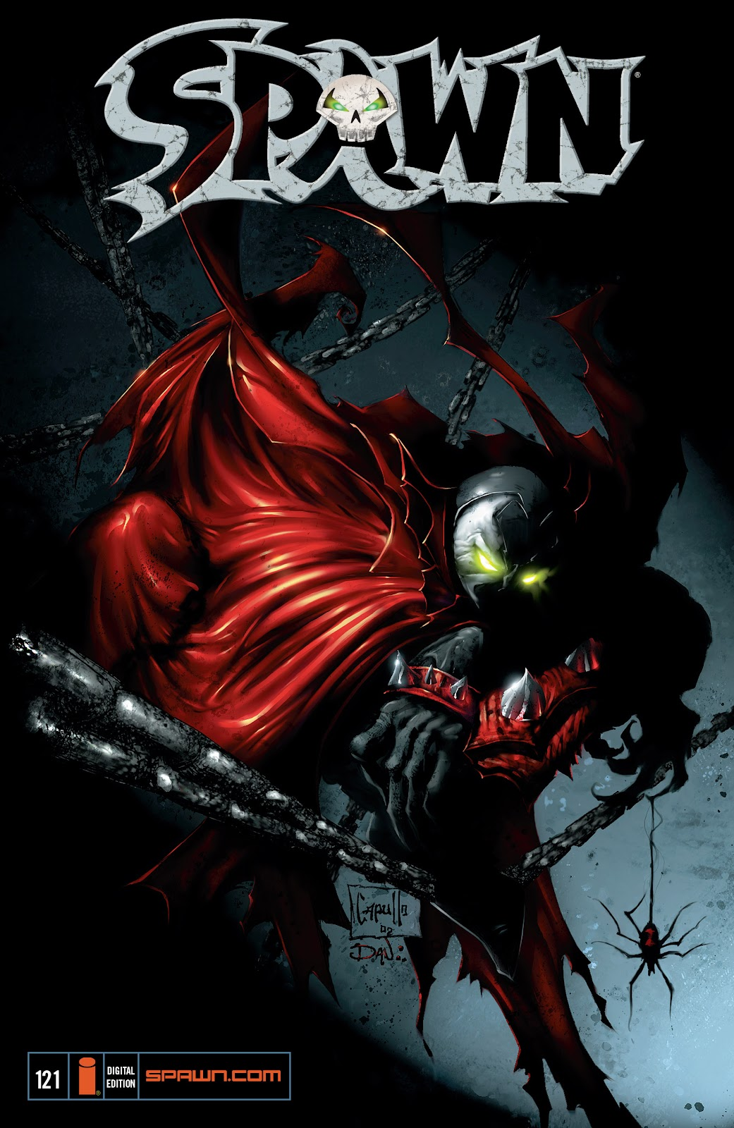 Spawn 121 Page 1