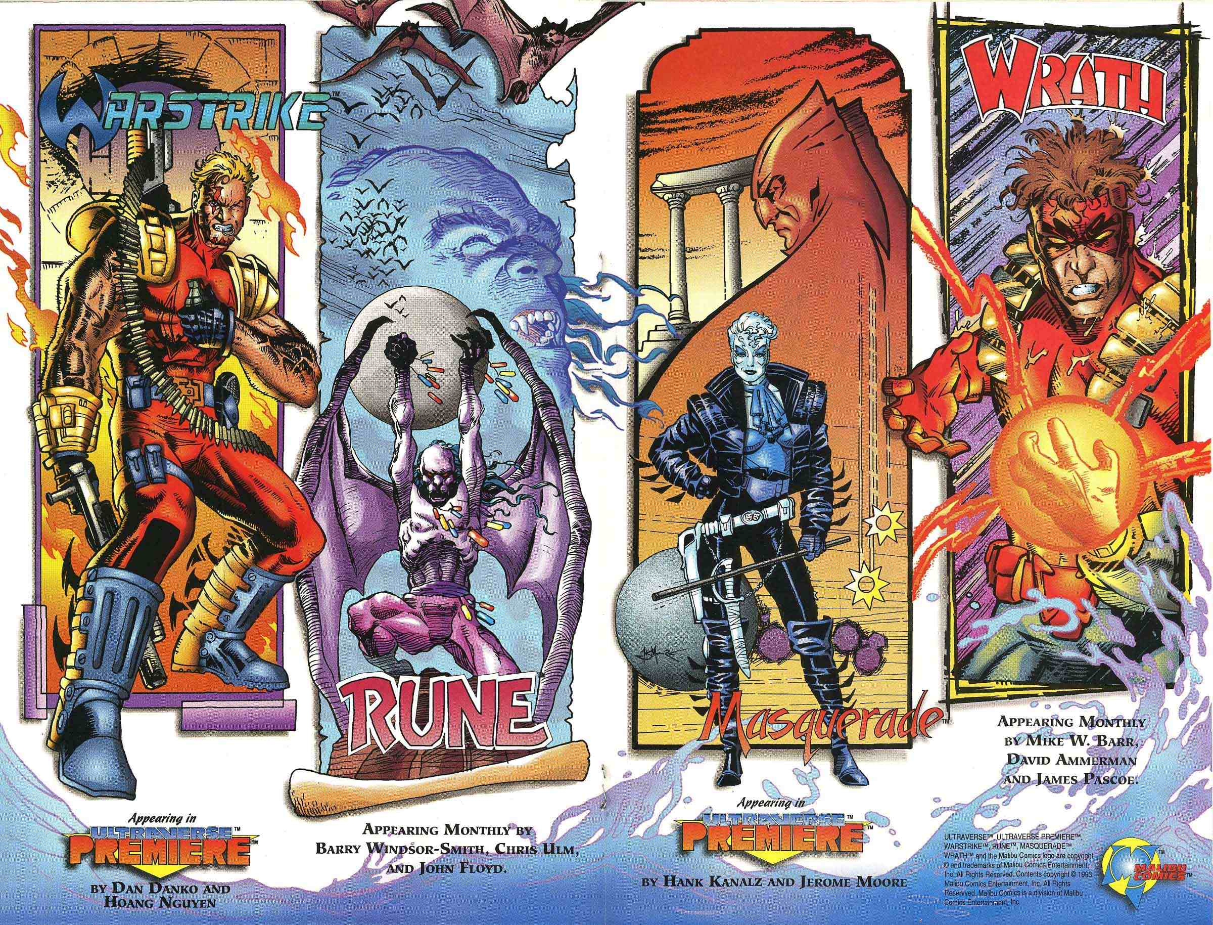 Read online Ultraverse Premiere comic -  Issue #0 - 22