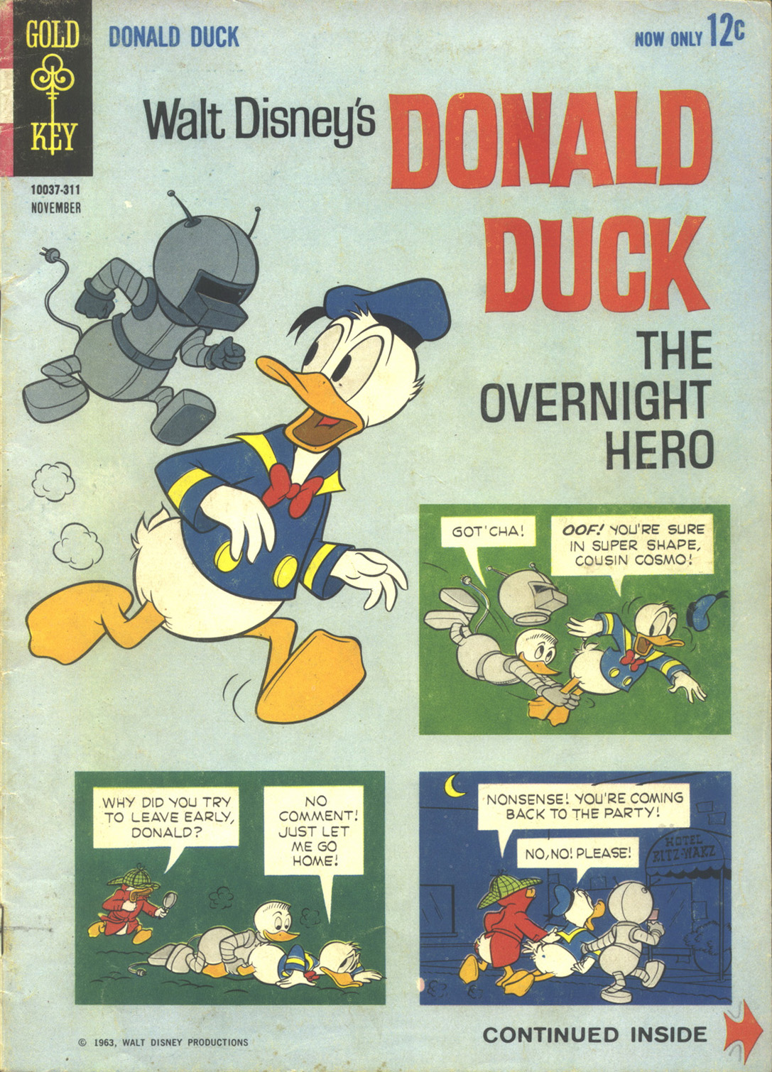 Donald Duck (1962) 91 Page 1