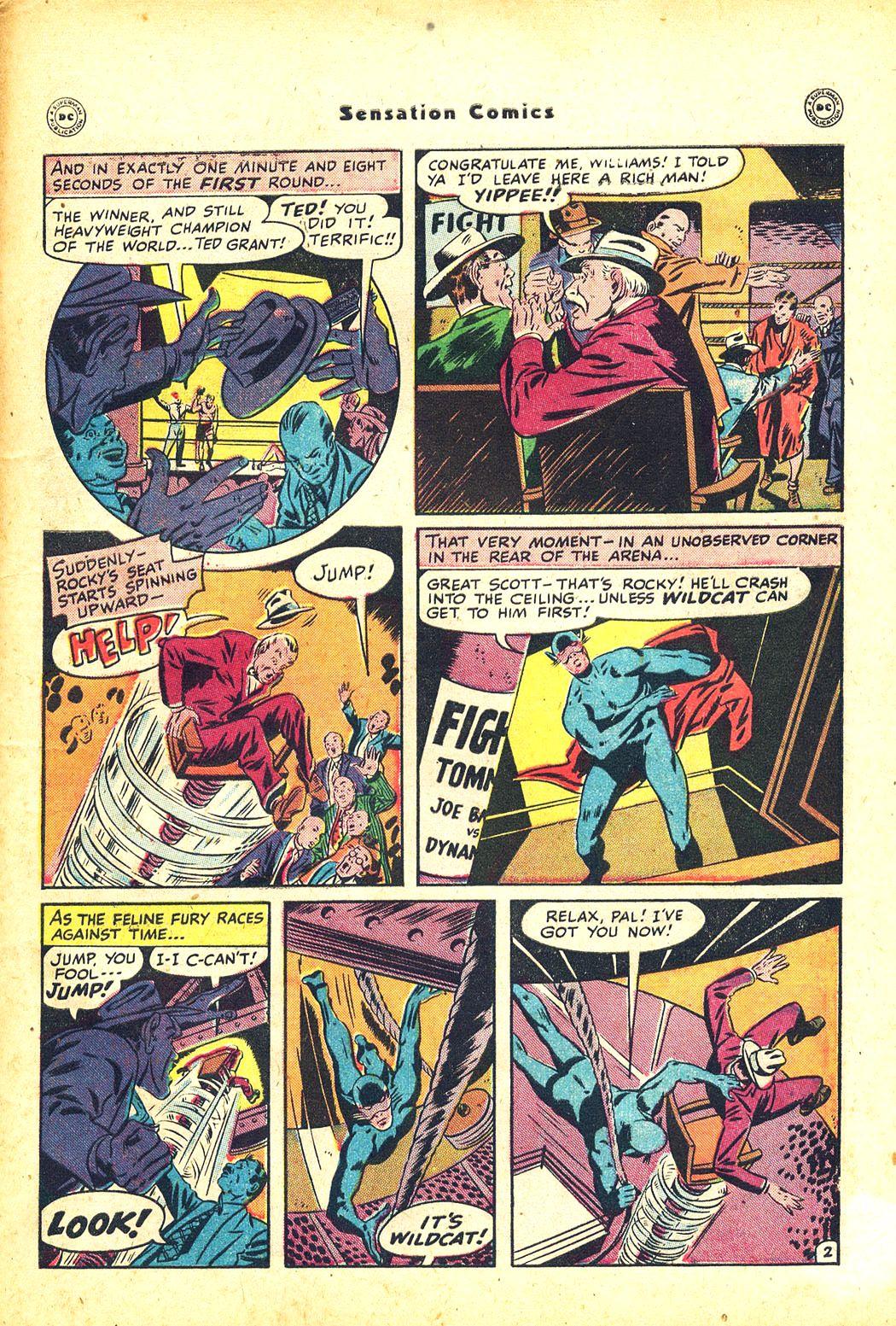 Read online Sensation (Mystery) Comics comic -  Issue #81 - 45