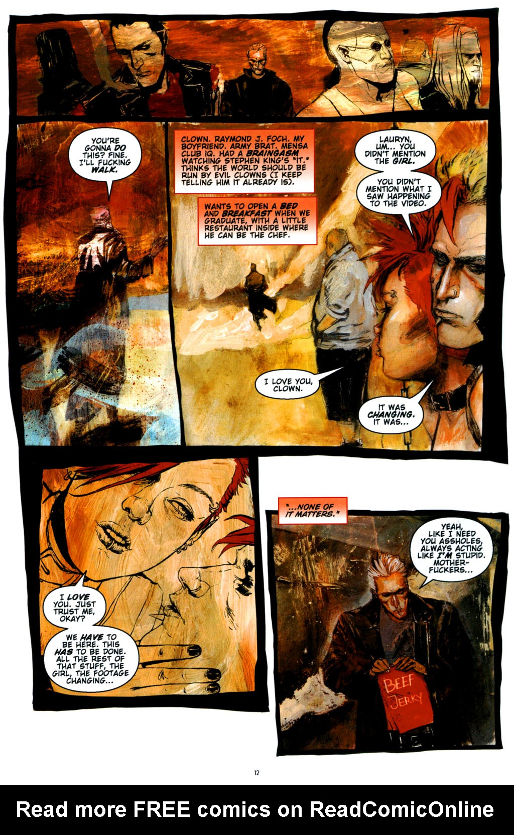 Read online Silent Hill: Dying Inside comic -  Issue #3 - 12