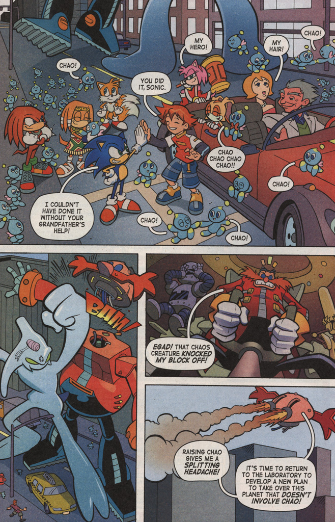 Read online Sonic X comic -  Issue #6 - 32