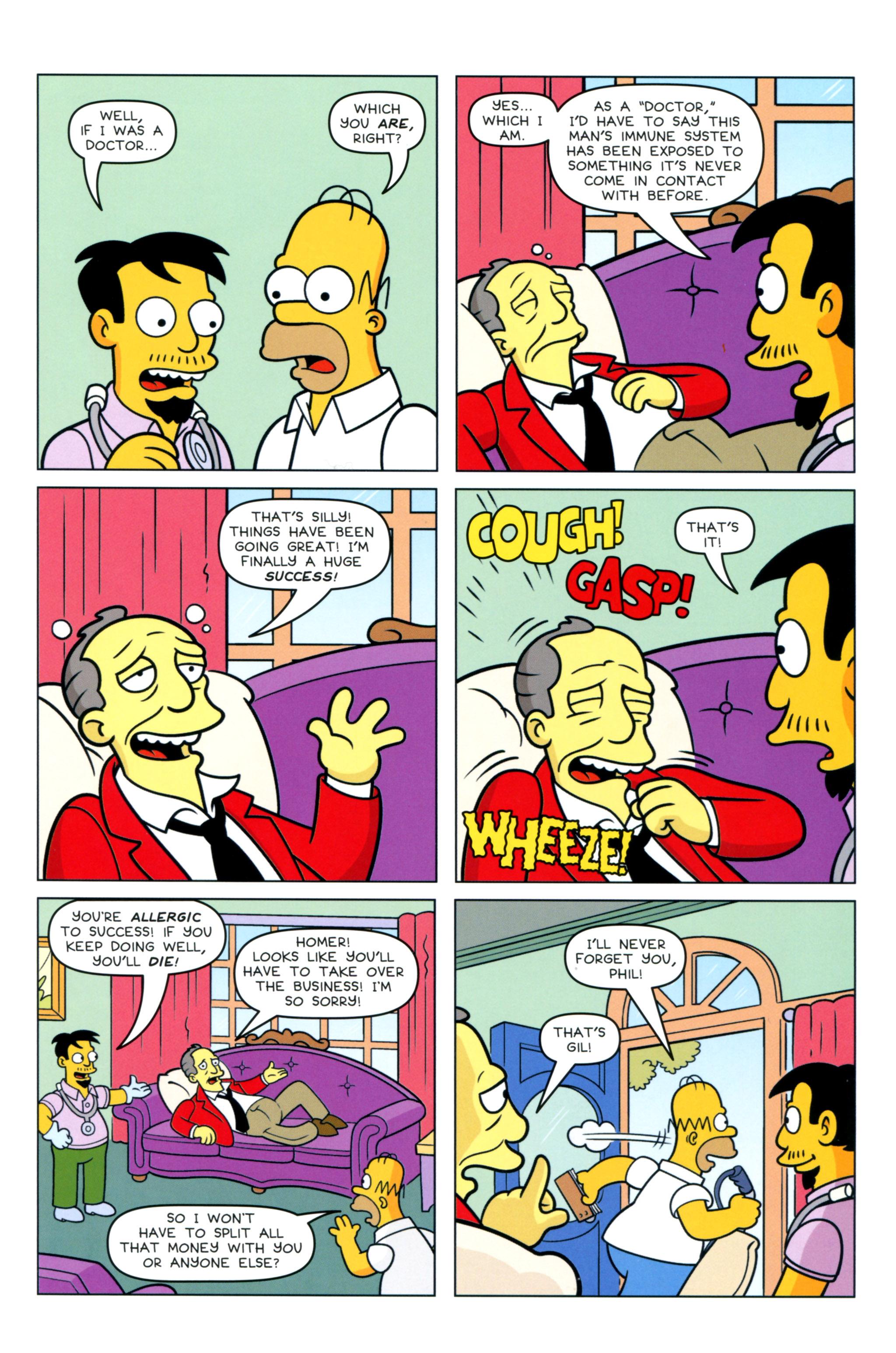 Read online Simpsons Comics comic -  Issue #217 - 21