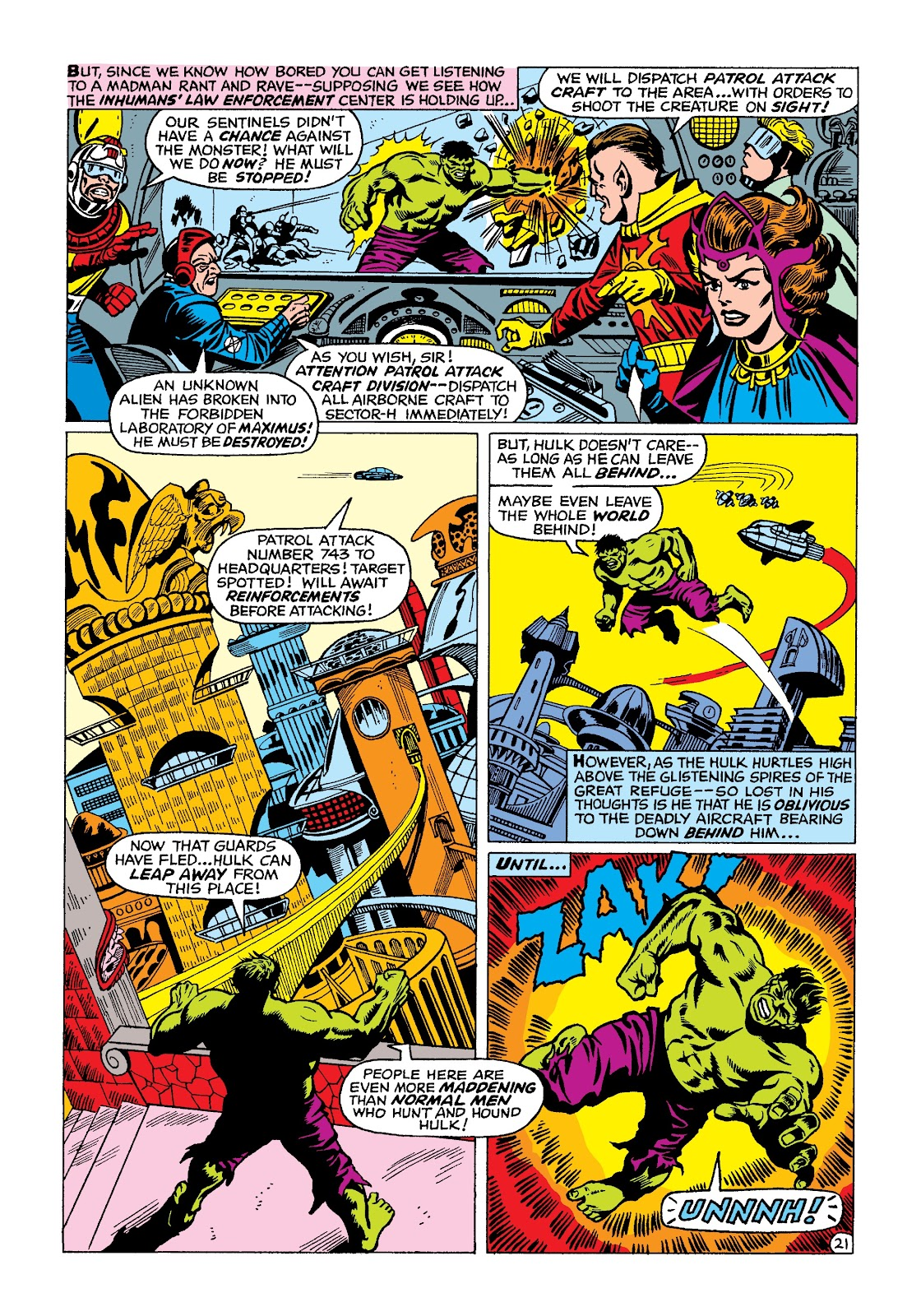 Read online Marvel Masterworks: The Incredible Hulk comic -  Issue # TPB 4 (Part 2) - 54