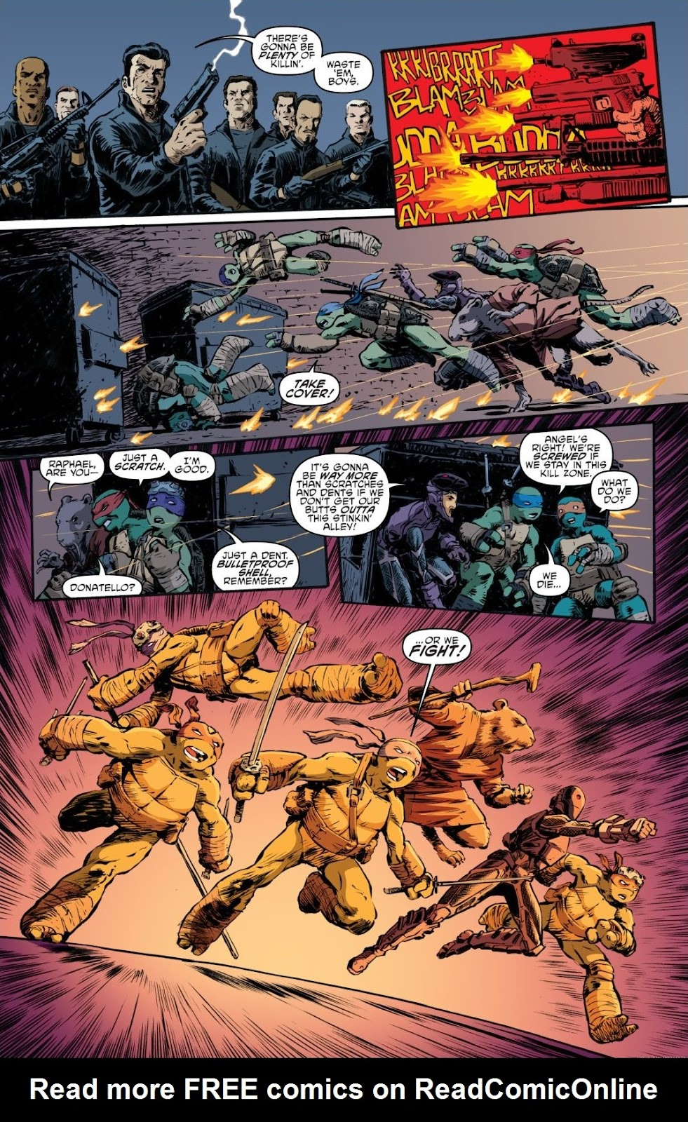 Read online Teenage Mutant Ninja Turtles: The IDW Collection comic -  Issue # TPB 7 (Part 3) - 86