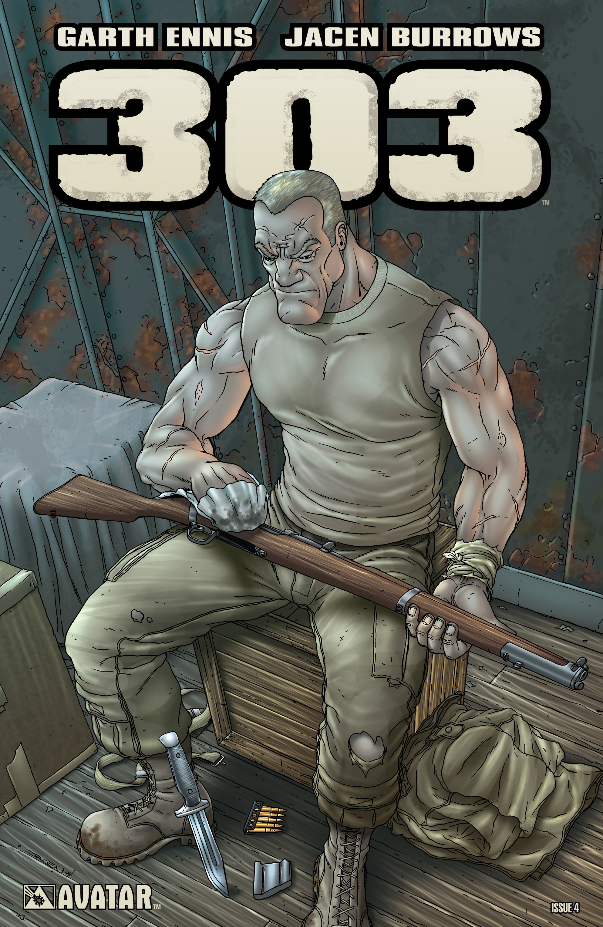 Read online 303 comic -  Issue #4 - 1