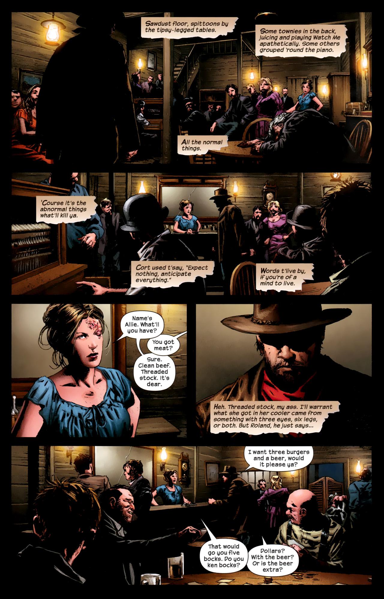 Read online Dark Tower: The Gunslinger - The Battle of Tull comic -  Issue #1 - 18