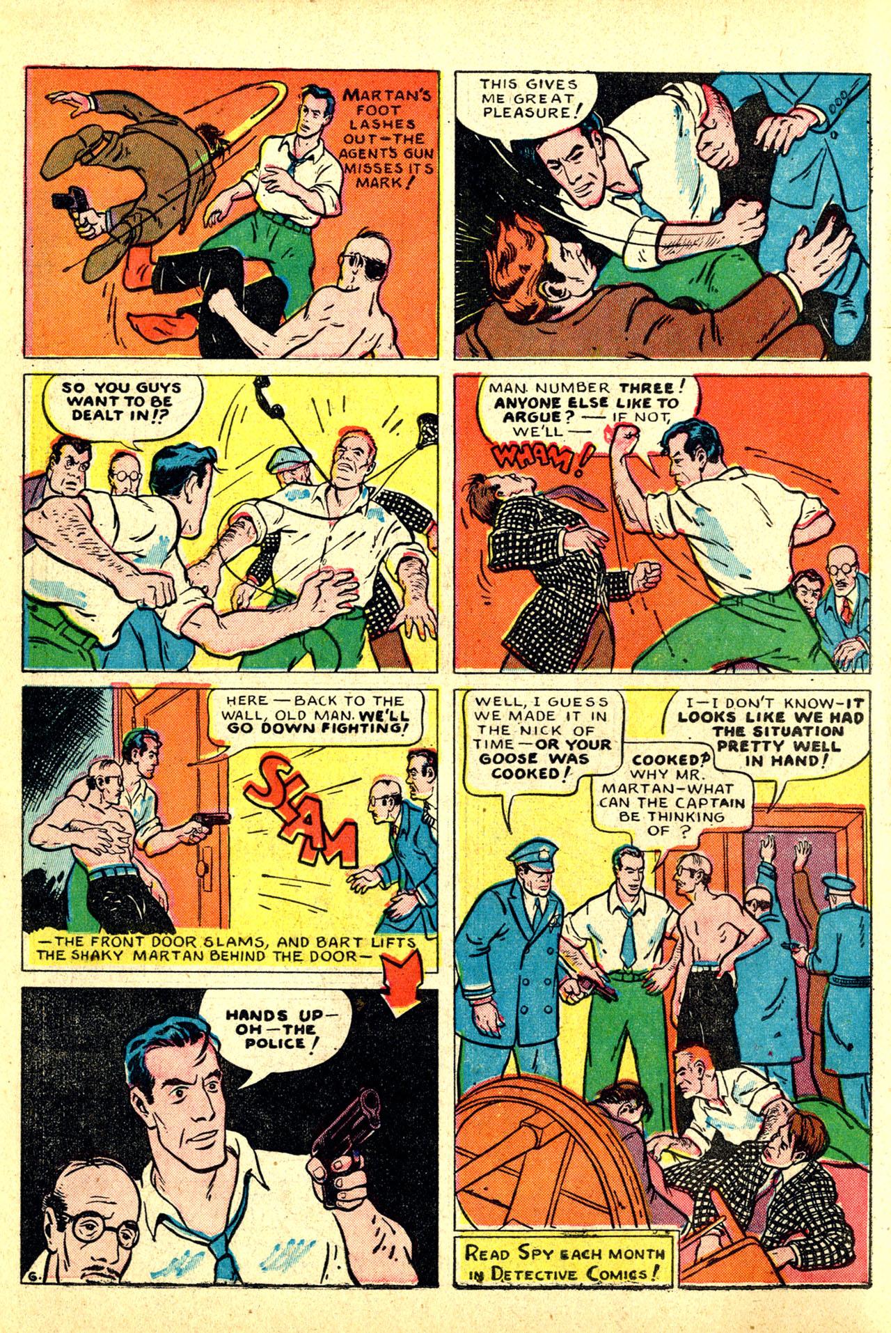 Read online Detective Comics (1937) comic -  Issue #50 - 22