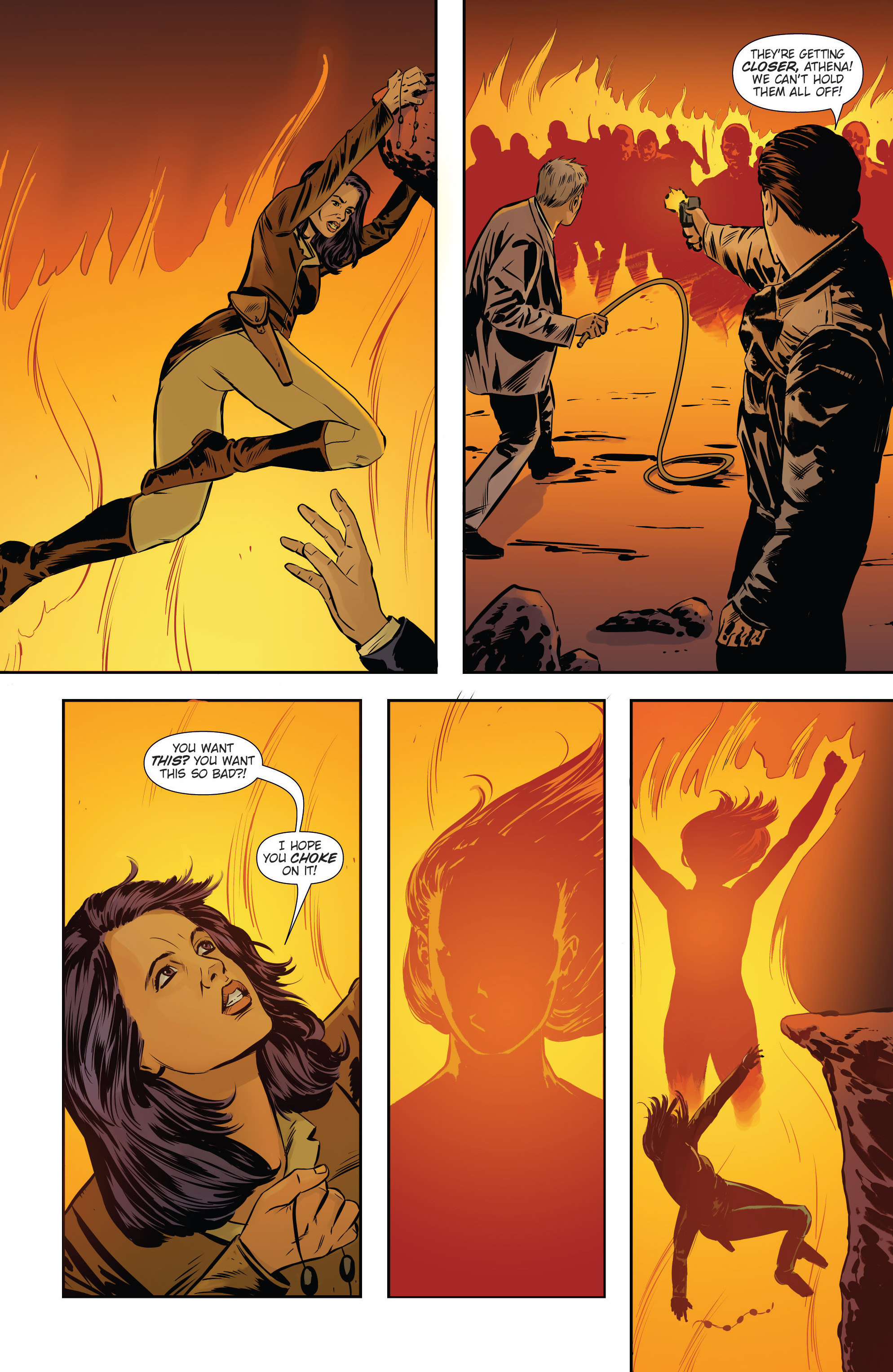 Read online Athena Voltaire and the Volcano Goddess comic -  Issue #3 - 23