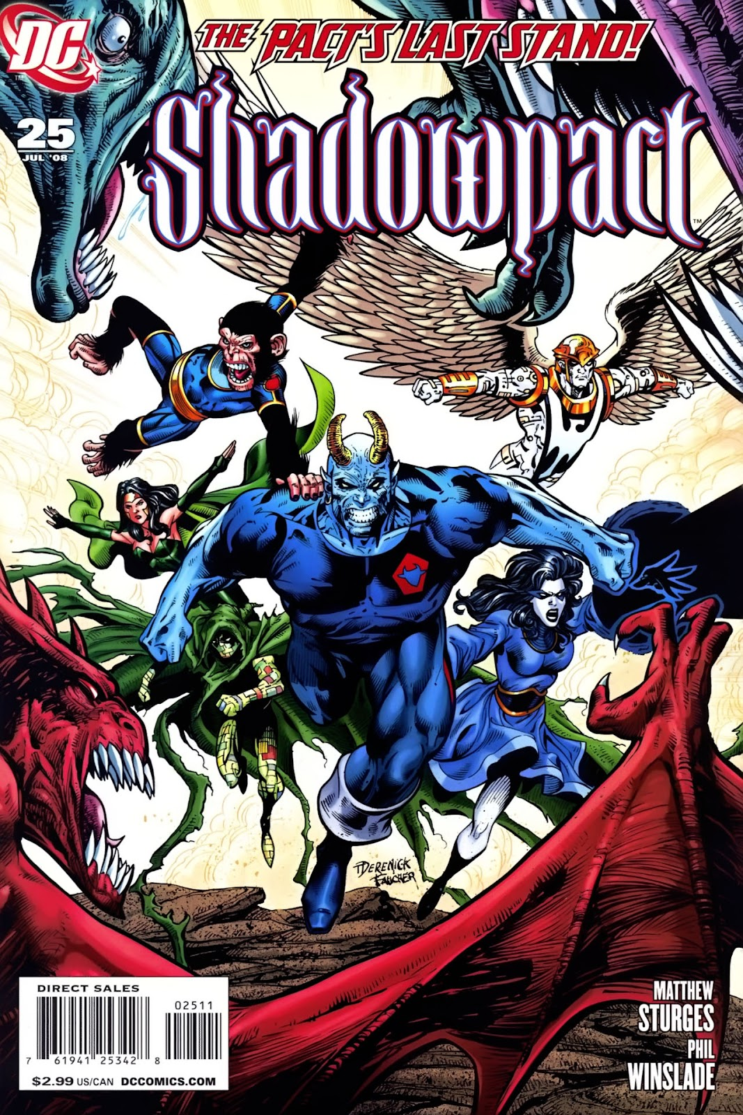Shadowpact issue 25 - Page 1