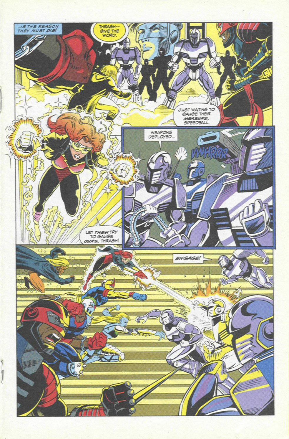 The New Warriors Issue #45 #49 - English 14