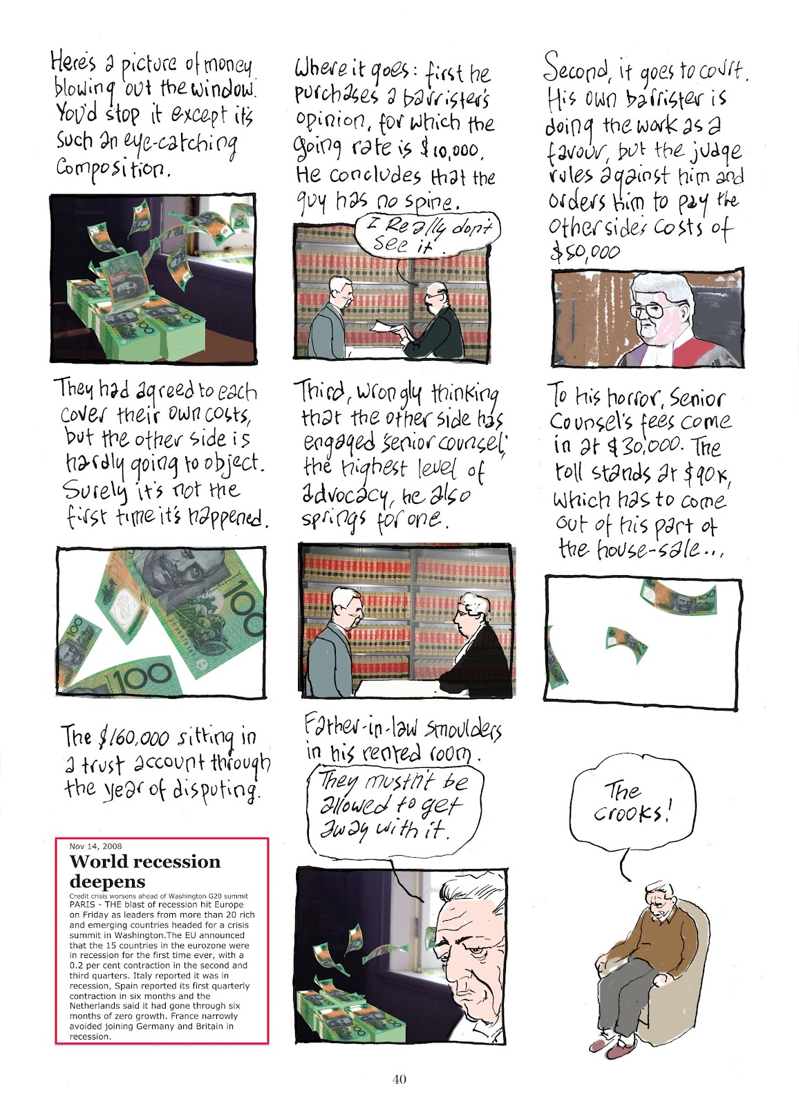 Read online The Lovely Horrible Stuff comic -  Issue # TPB - 42