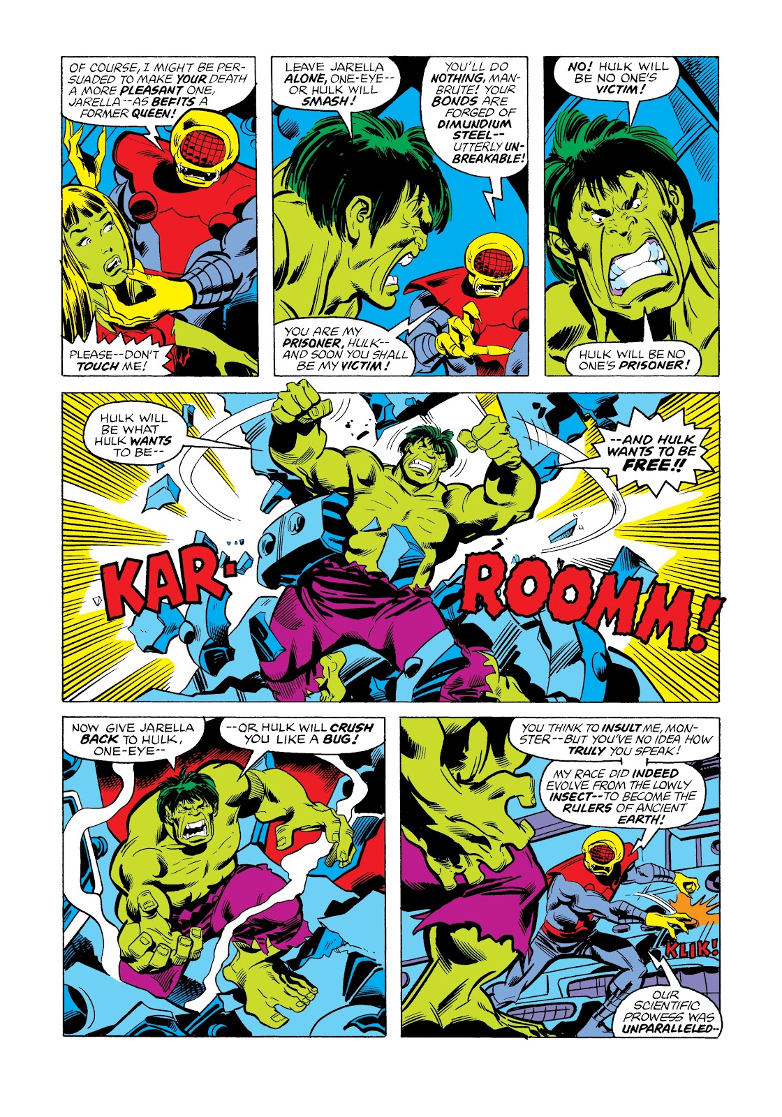 Read online Marvel Masterworks: The Incredible Hulk comic -  Issue # TPB 12 (Part 2) - 57