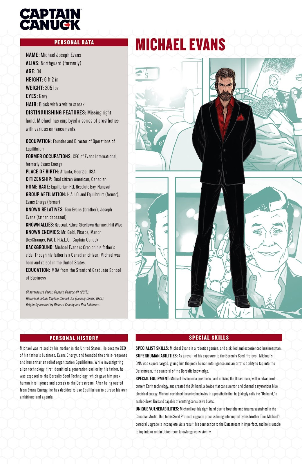 Captain Canuck: Invasion (Canada Day 2018) issue Full - Page 22