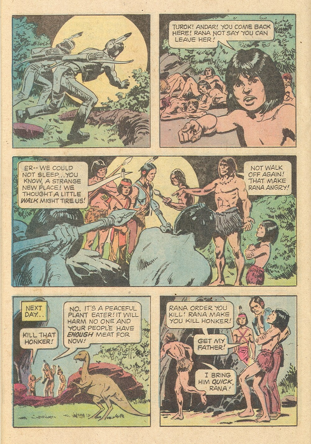 Read online Turok, Son of Stone comic -  Issue #129 - 20