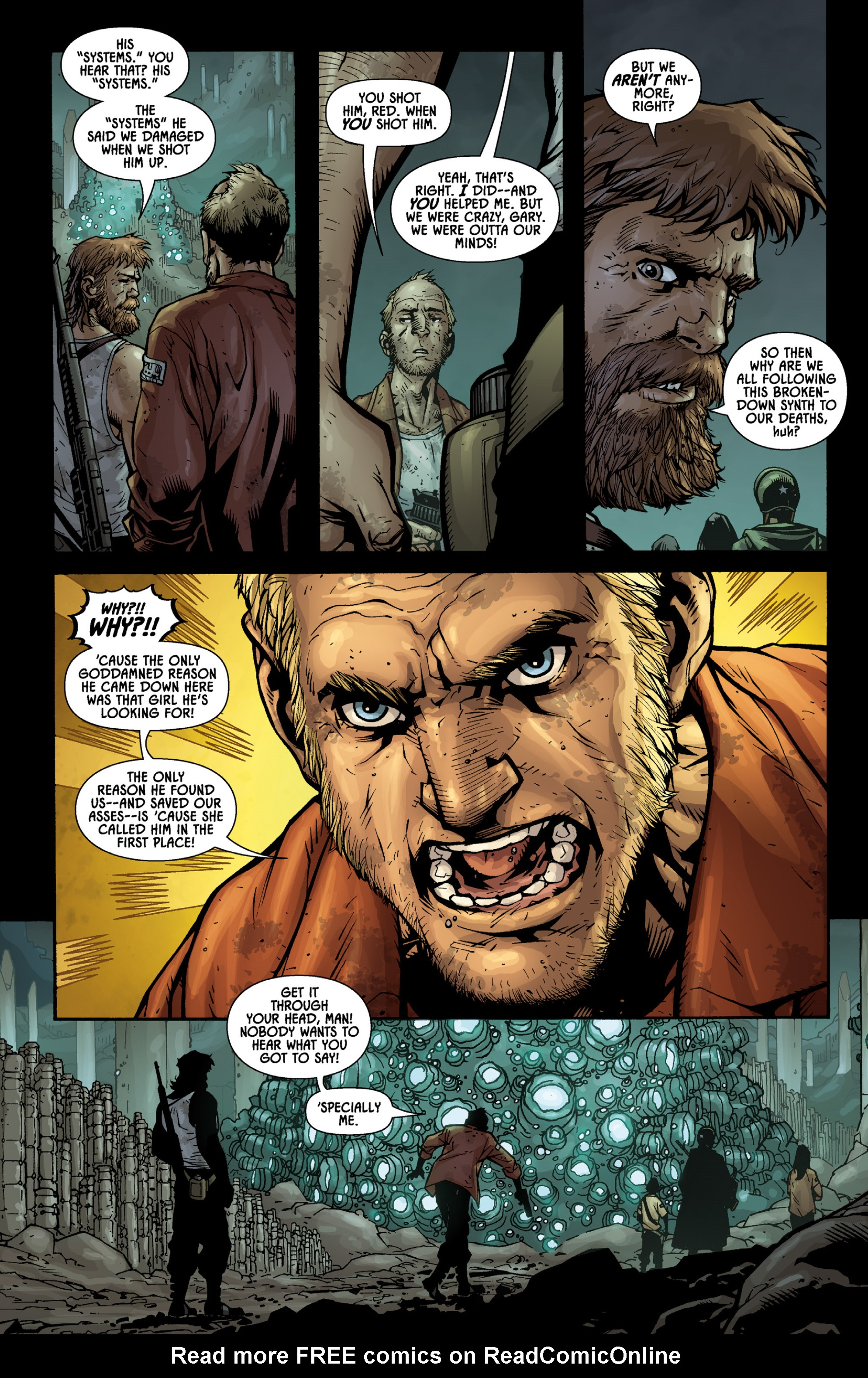 Read online Aliens (2009) comic -  Issue # TPB - 67