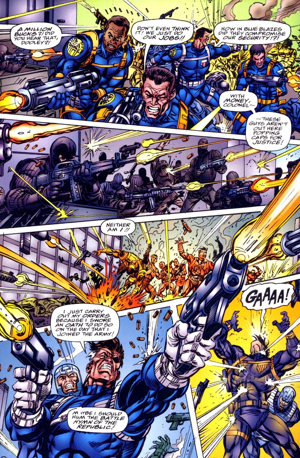Read online Double Edge comic -  Issue # Issue Alpha - 4