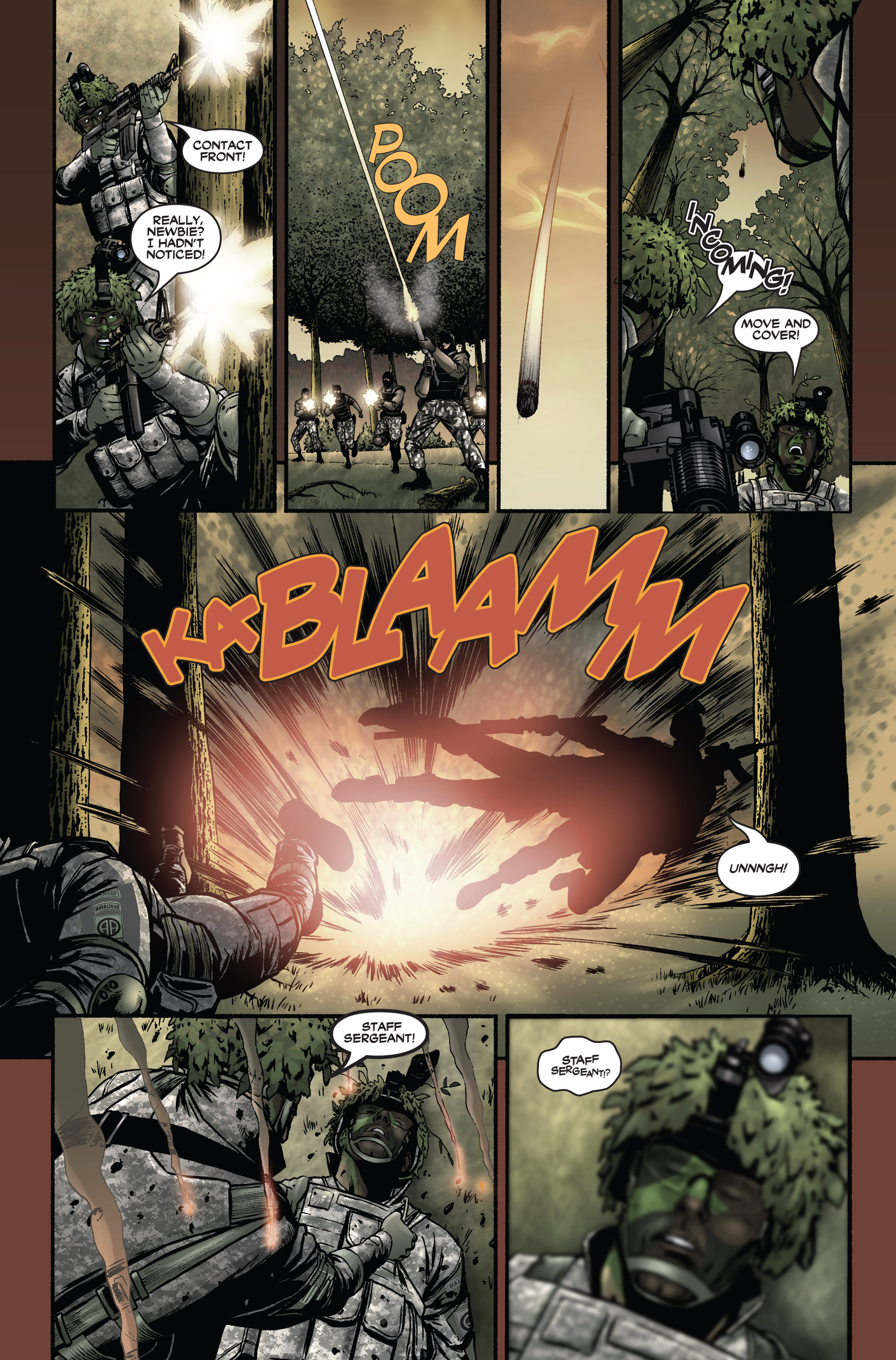 Read online America's Army comic -  Issue #1 - 4