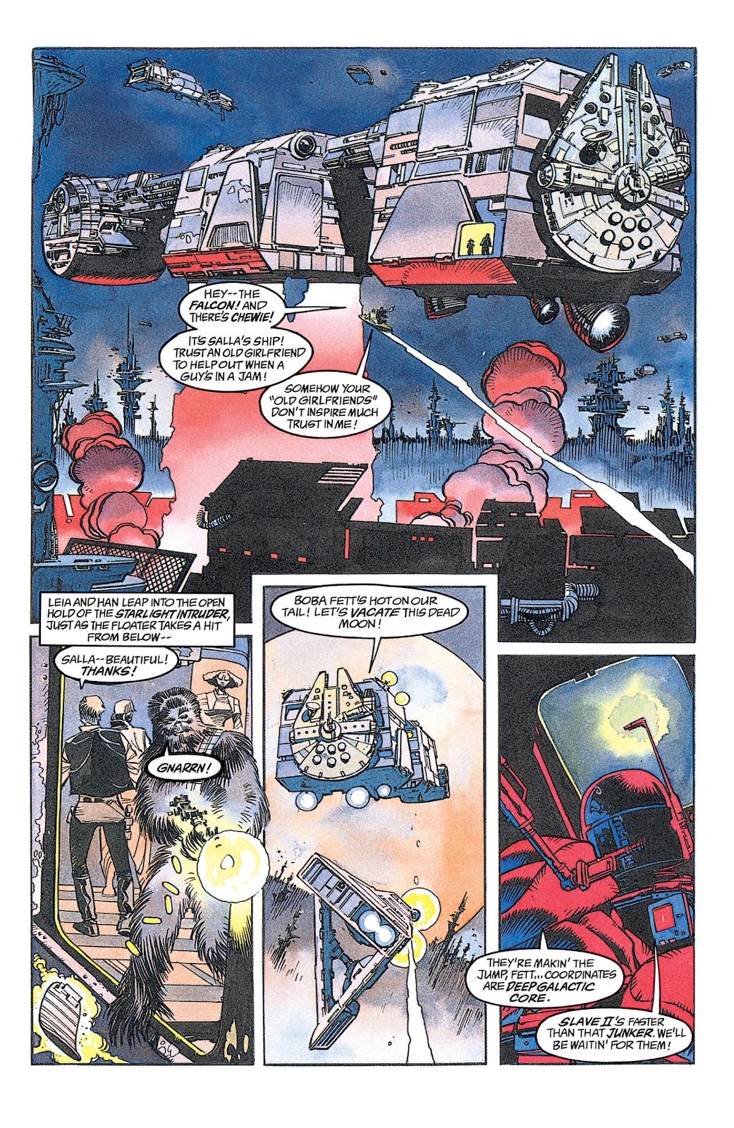 Read online Star Wars: Dark Empire Trilogy comic -  Issue # TPB (Part 1) - 87