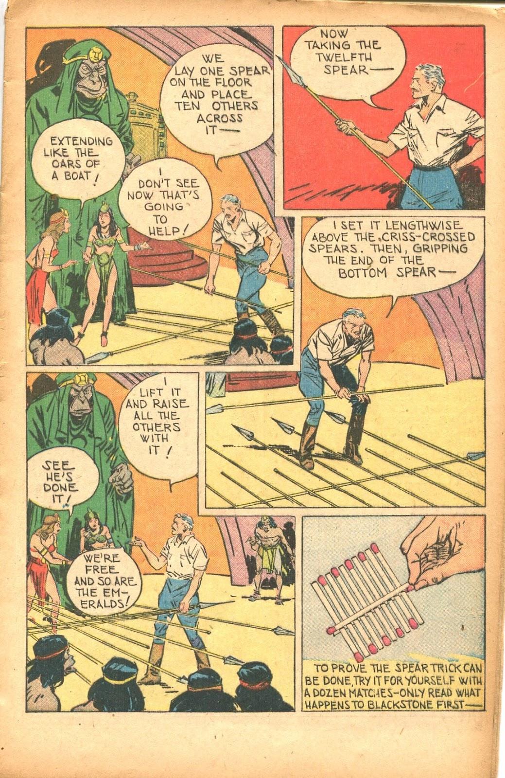 Read online Super-Magician Comics comic -  Issue #35 - 13